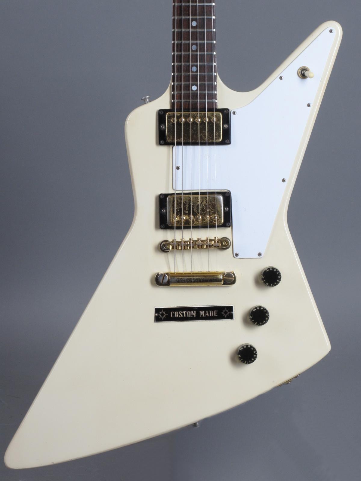 1976 Gibson Explorer - White ...rare!