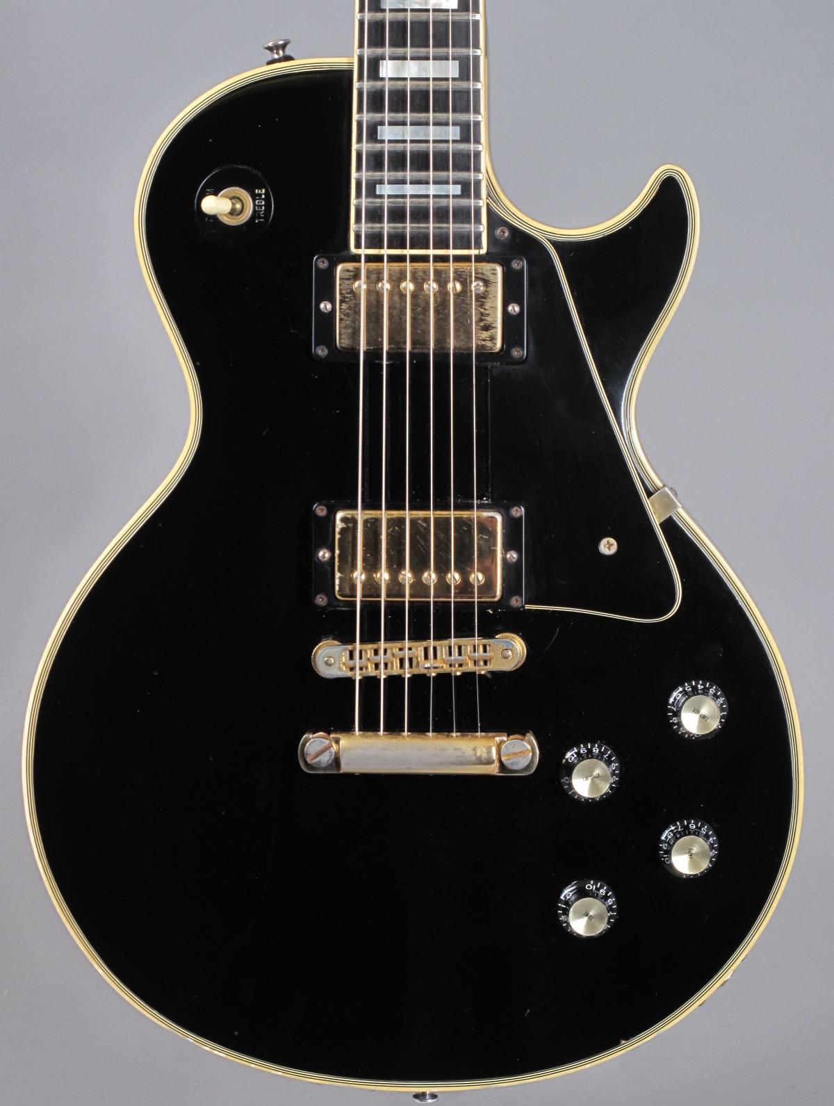 1976 Gibson Les Paul Custom - Ebony