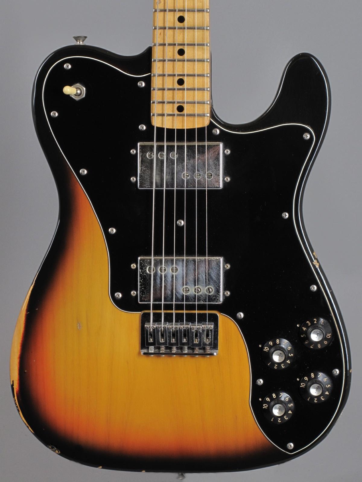 1977 Fender Telecaster Deluxe - 3-tone Sunburst