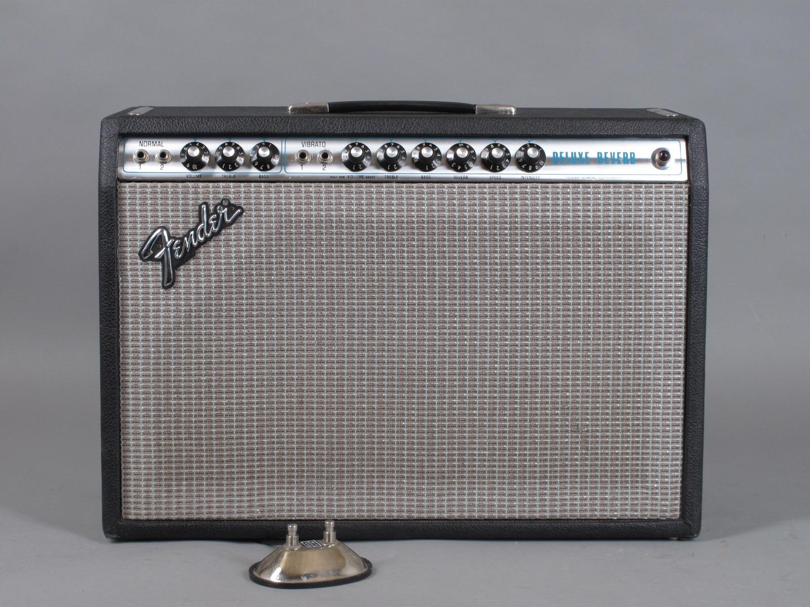 1978 Fender Deluxe Reverb Amp  / Export-version !
