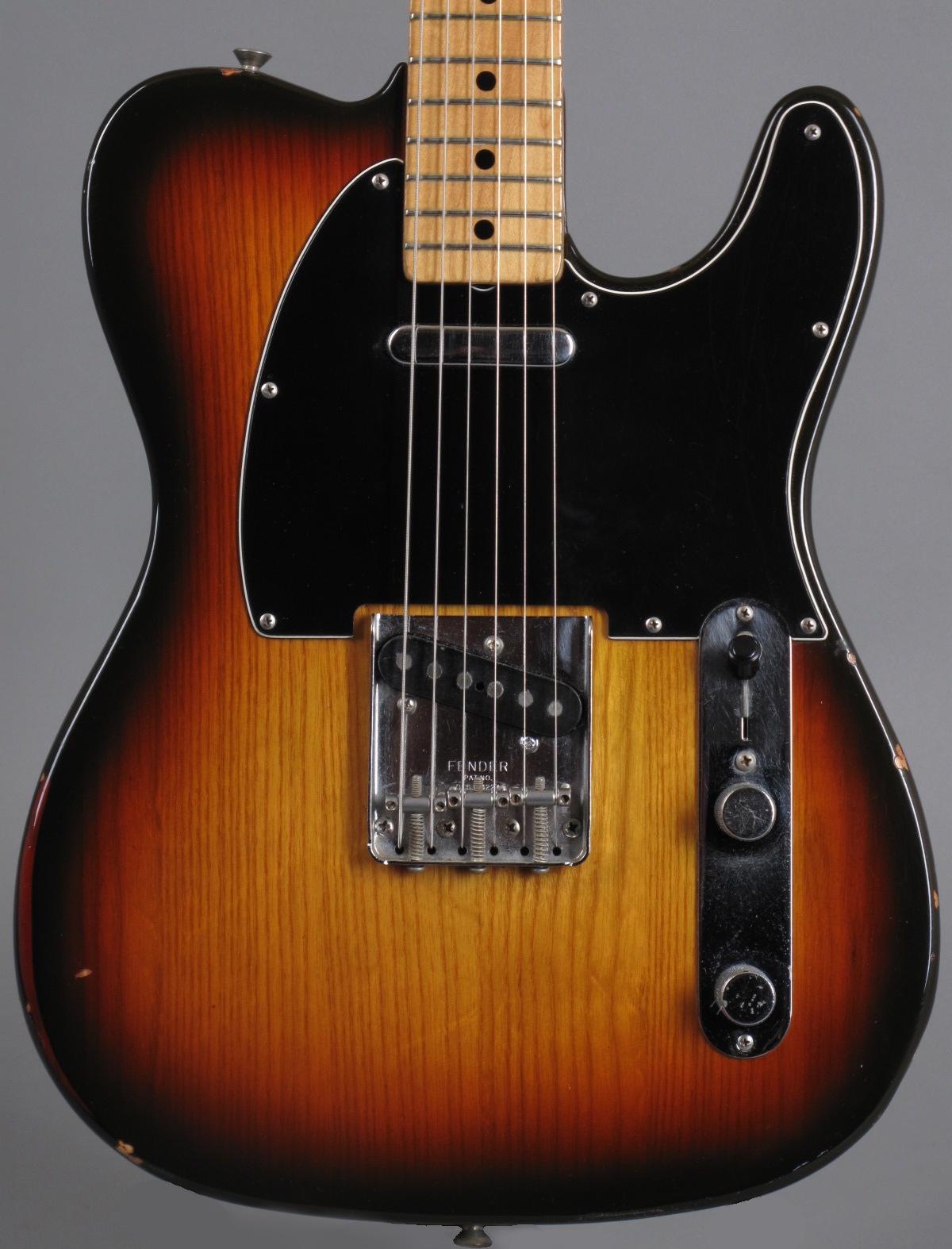 1981 Fender Telecaster - Sunburst