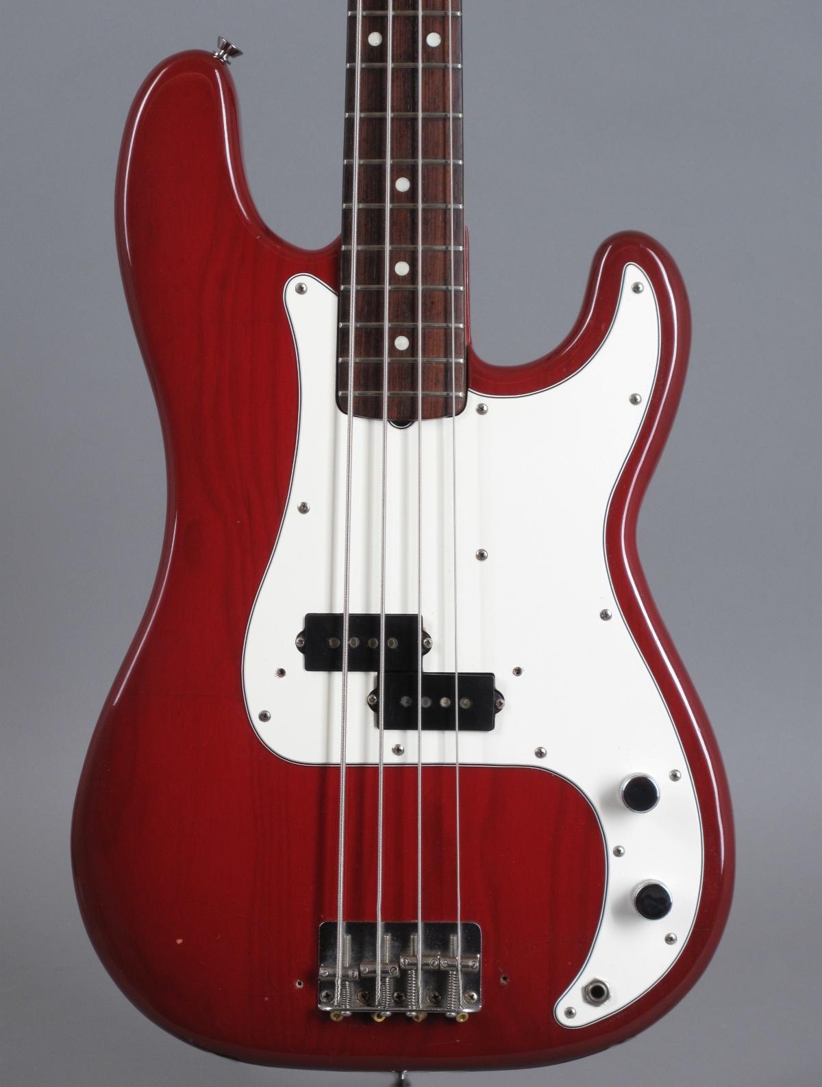 1981 Fender Precision - Translucent Red