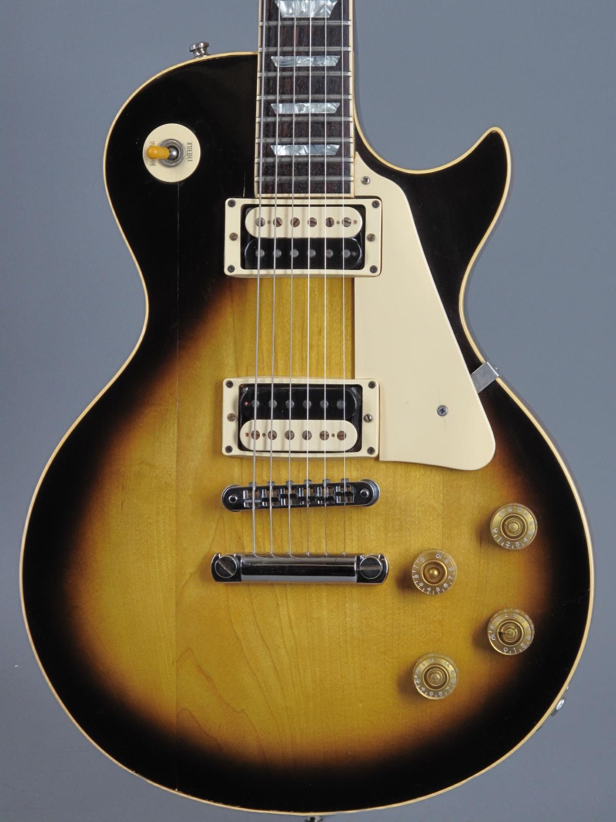 1981 Gibson Les Paul Standard - Sunburst