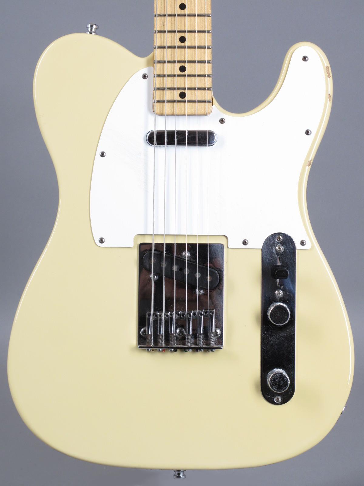 1983 Fender Standard Telecaster - Olympic White