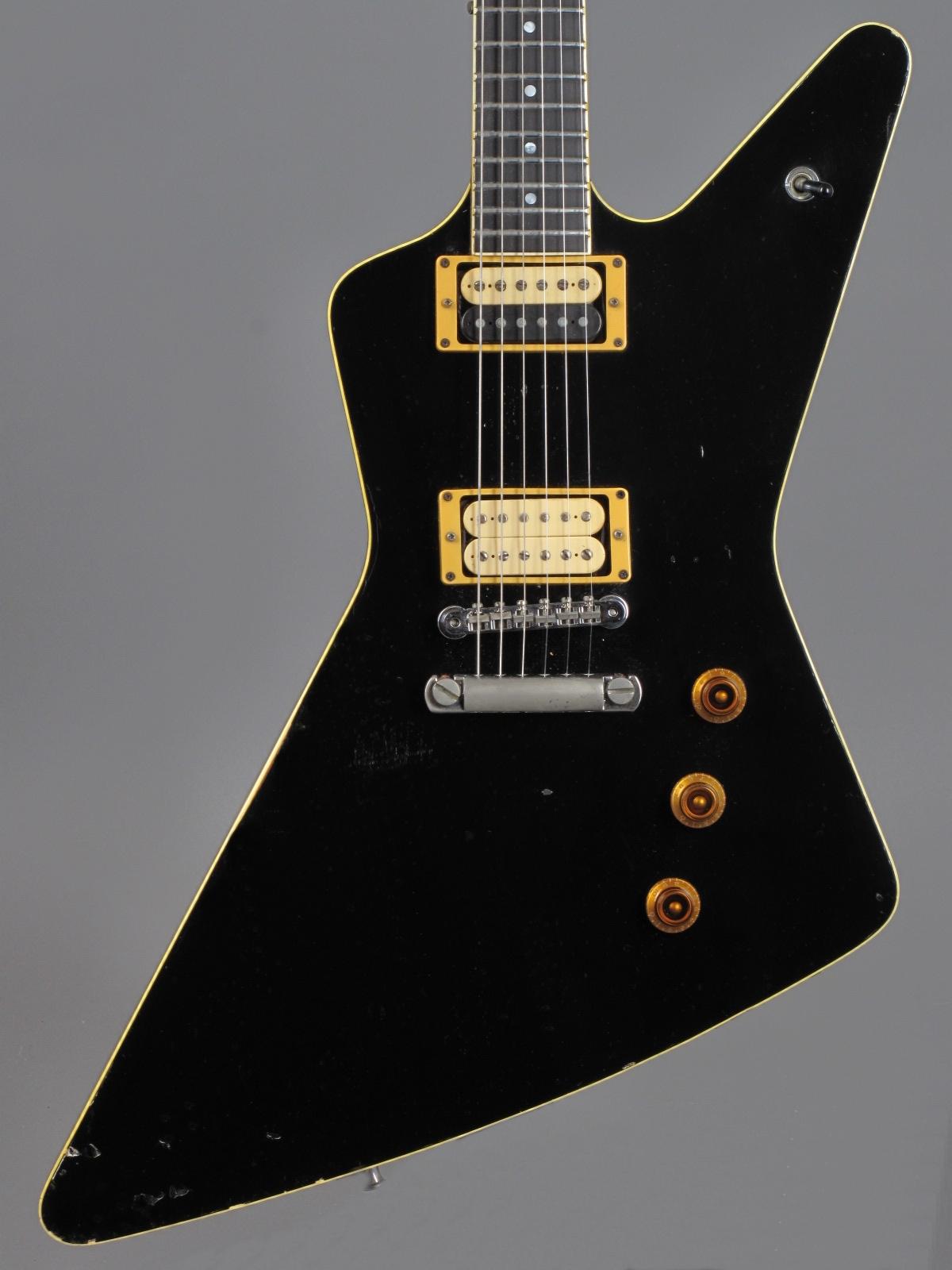 1984 Hamer Standard - Black  ...ex Tommy Thayer (Kiss)