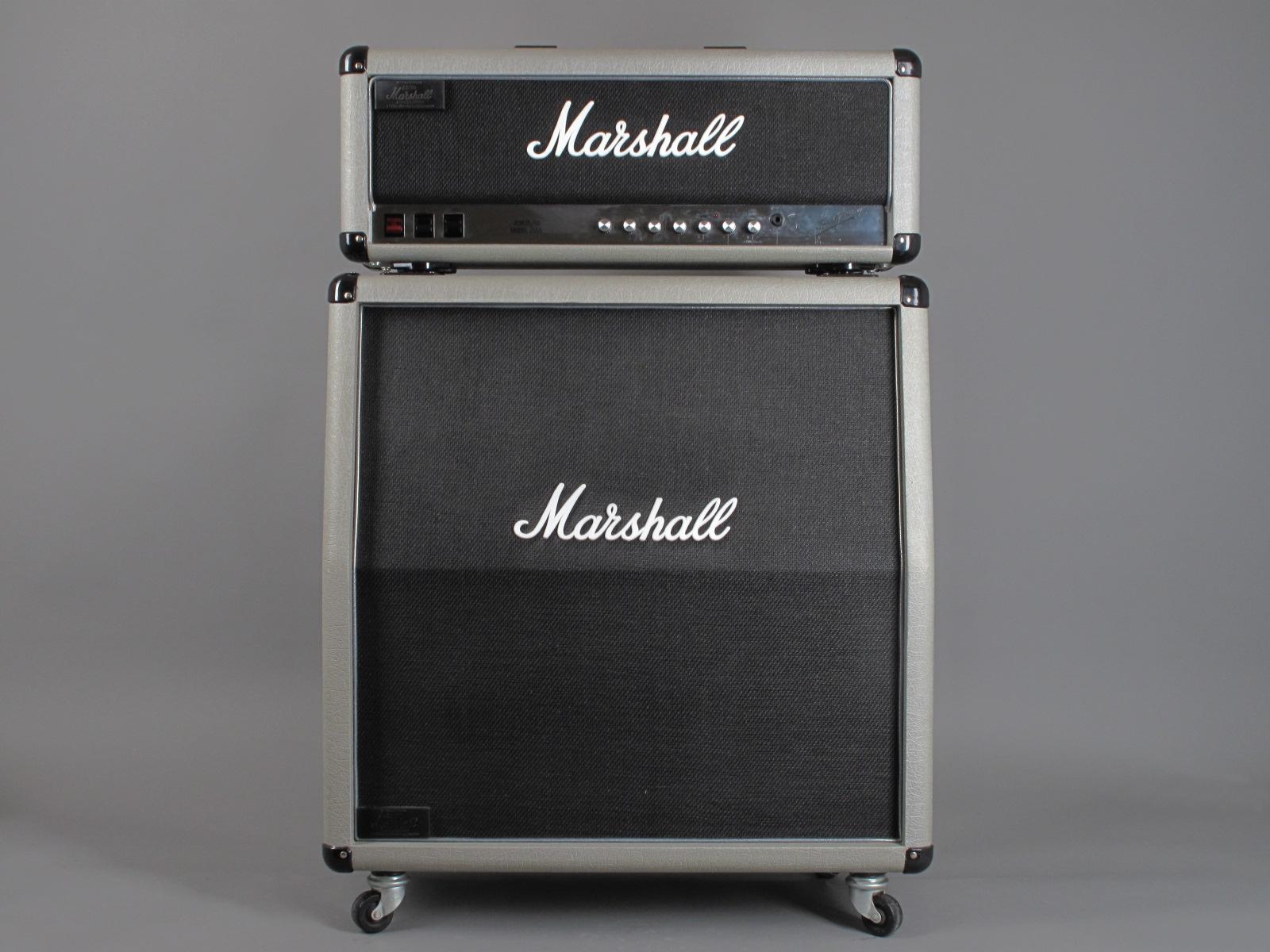 "1987 Marshall Silver Jubilee JCM 25/50 Model 2555 - 100W  + 4x12"" Cab"