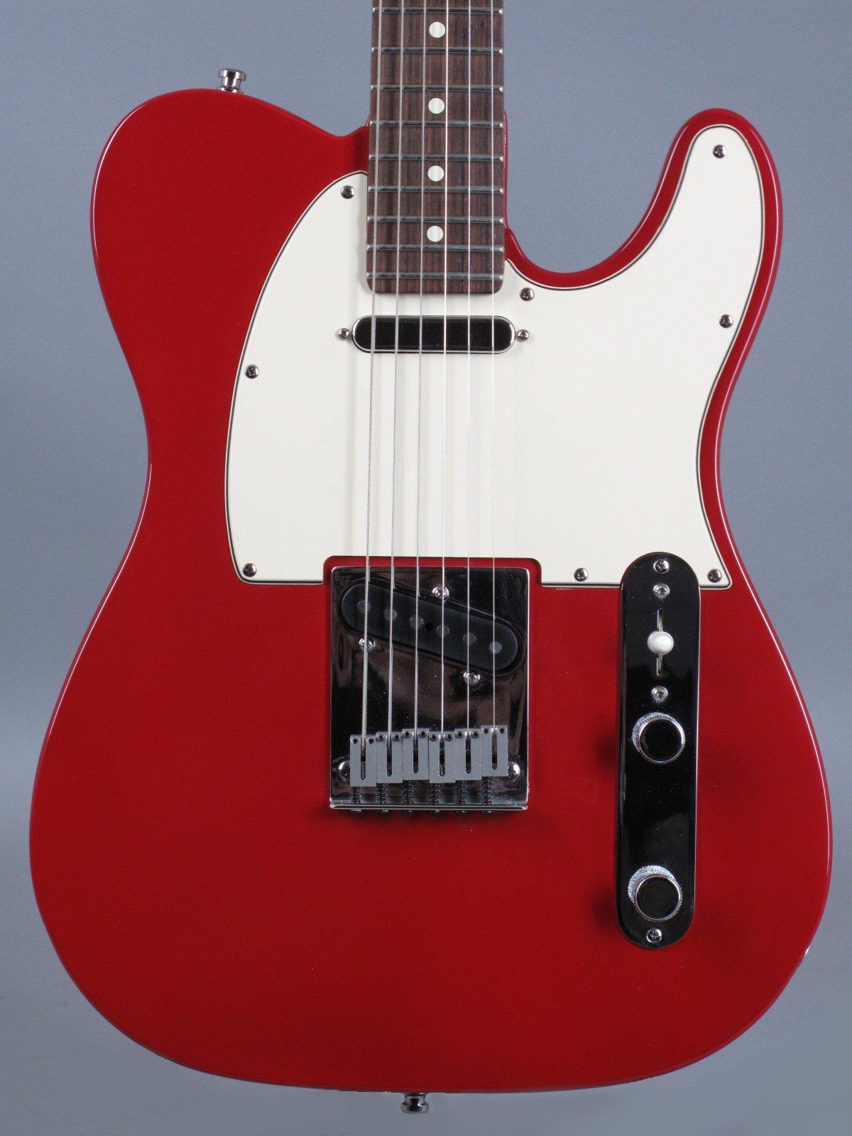 1995 Fender Standard Telecaster - Lipstick Red