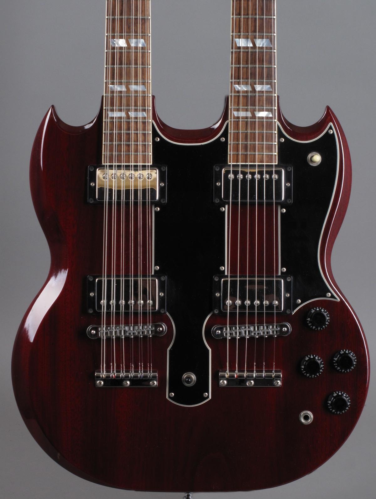 1996 Gibson EDS-1275 Doubleneck - Cherry