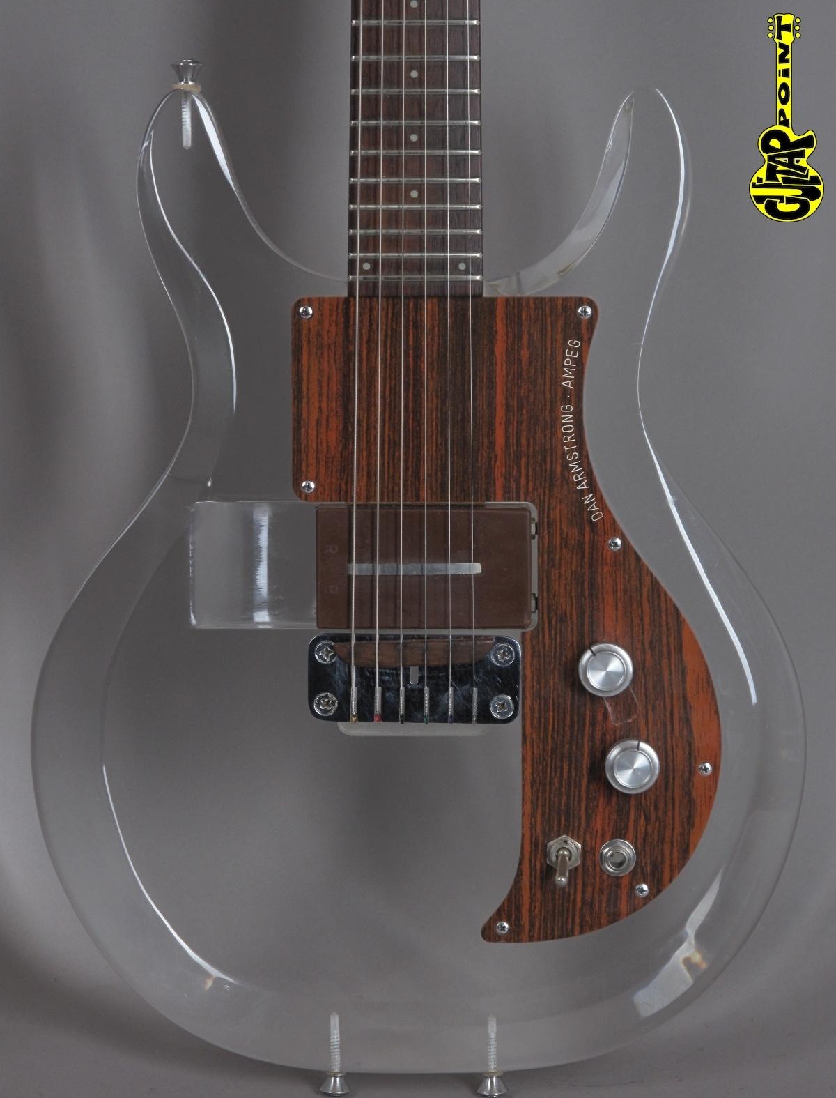 1970 Dan Armstrong (Ampeg) Plexi/Lucite Guitar