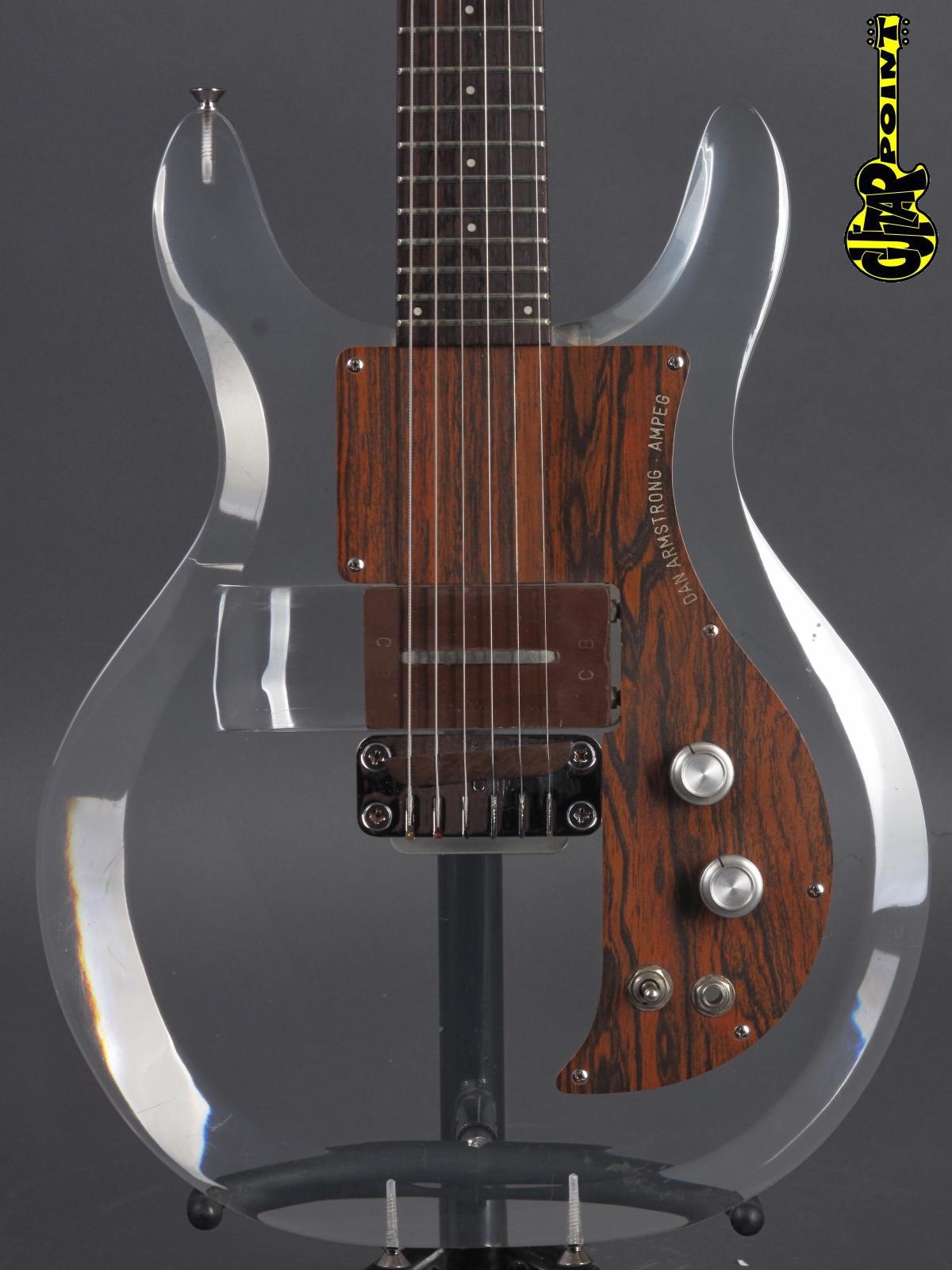 1970 Dan Amstrong (Ampeg) Plexi/Lucite Guitar