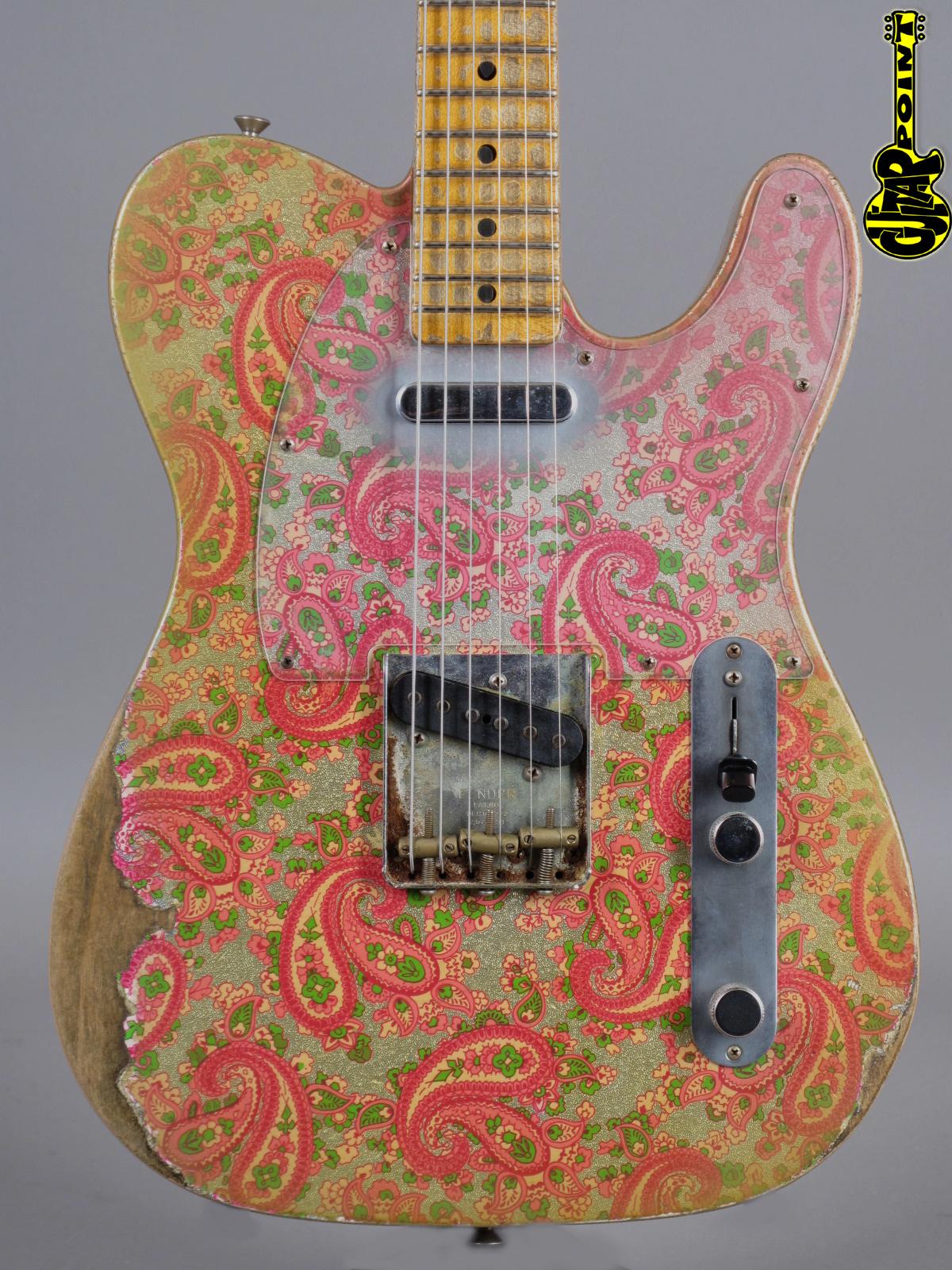 2017 Fender Custom Shop Dale Wilson Masterbuilt '68 Telecaster Paisley Relic