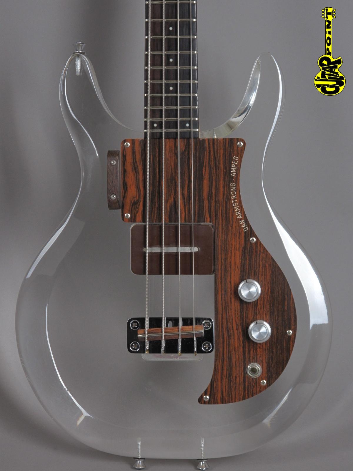 1970 Dan Armstrong (Ampeg) Lucite - Plexiglass Bass