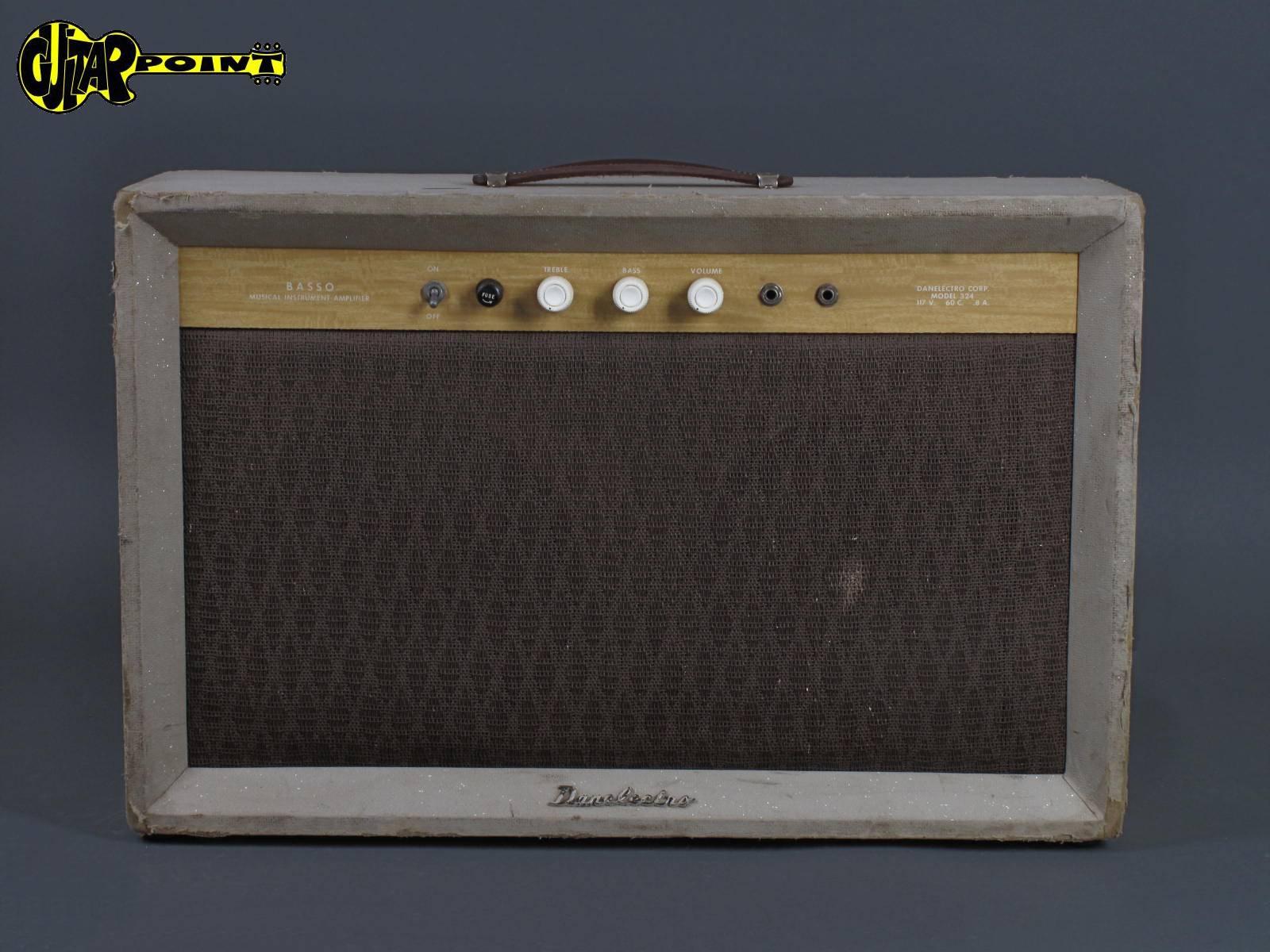 1960 Danelectro Basso Model 324 - Tube Amplifier