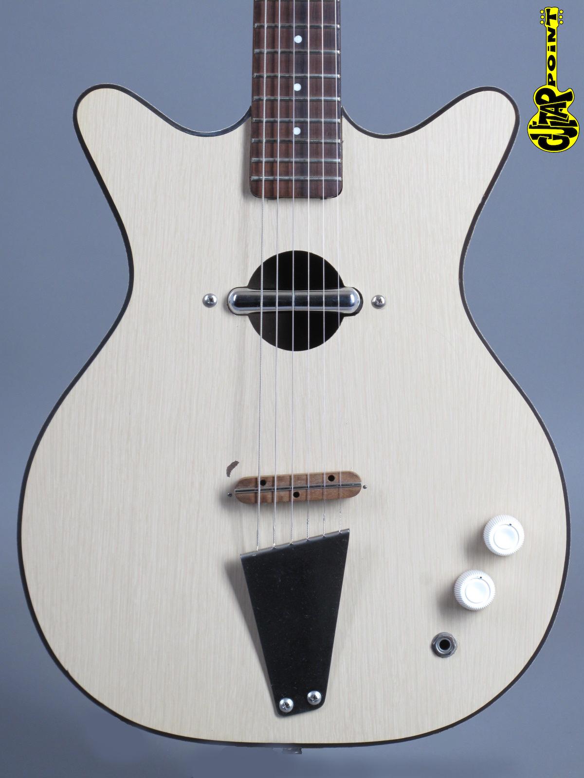 1966 Danelectro Convertible - White
