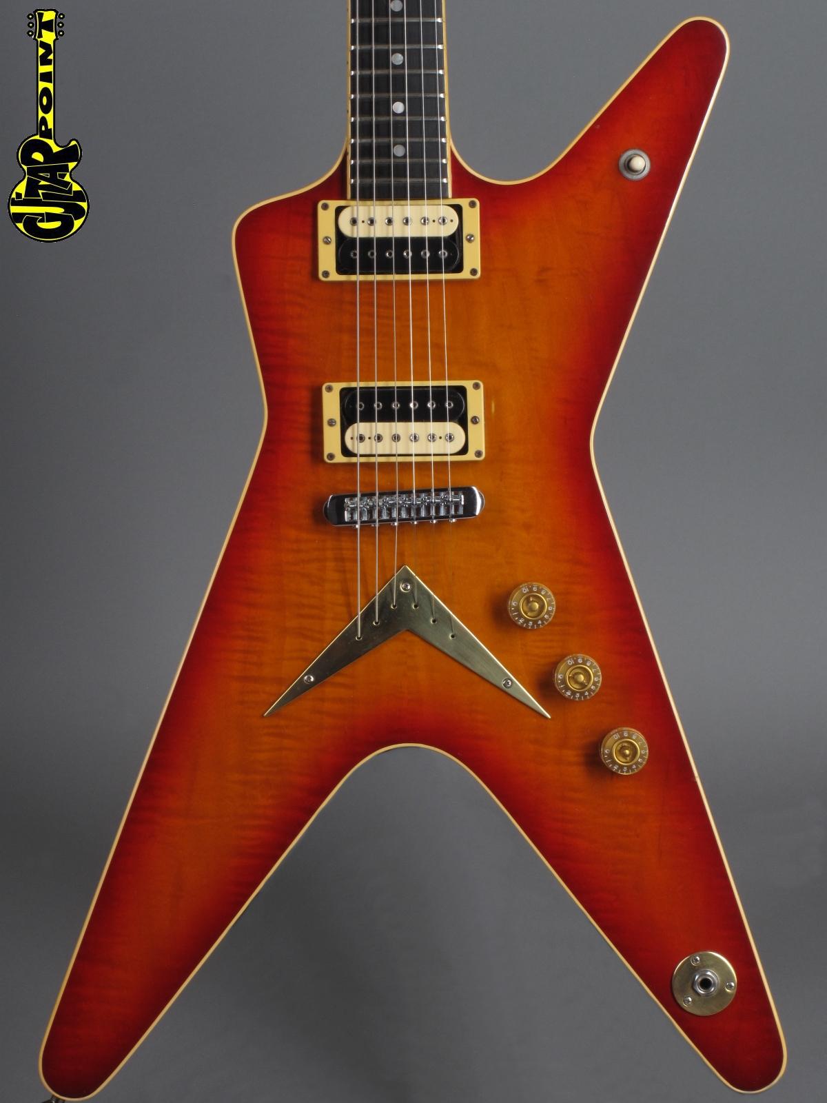 1980 Dean ML Standard / Imperial - Cherryburst
