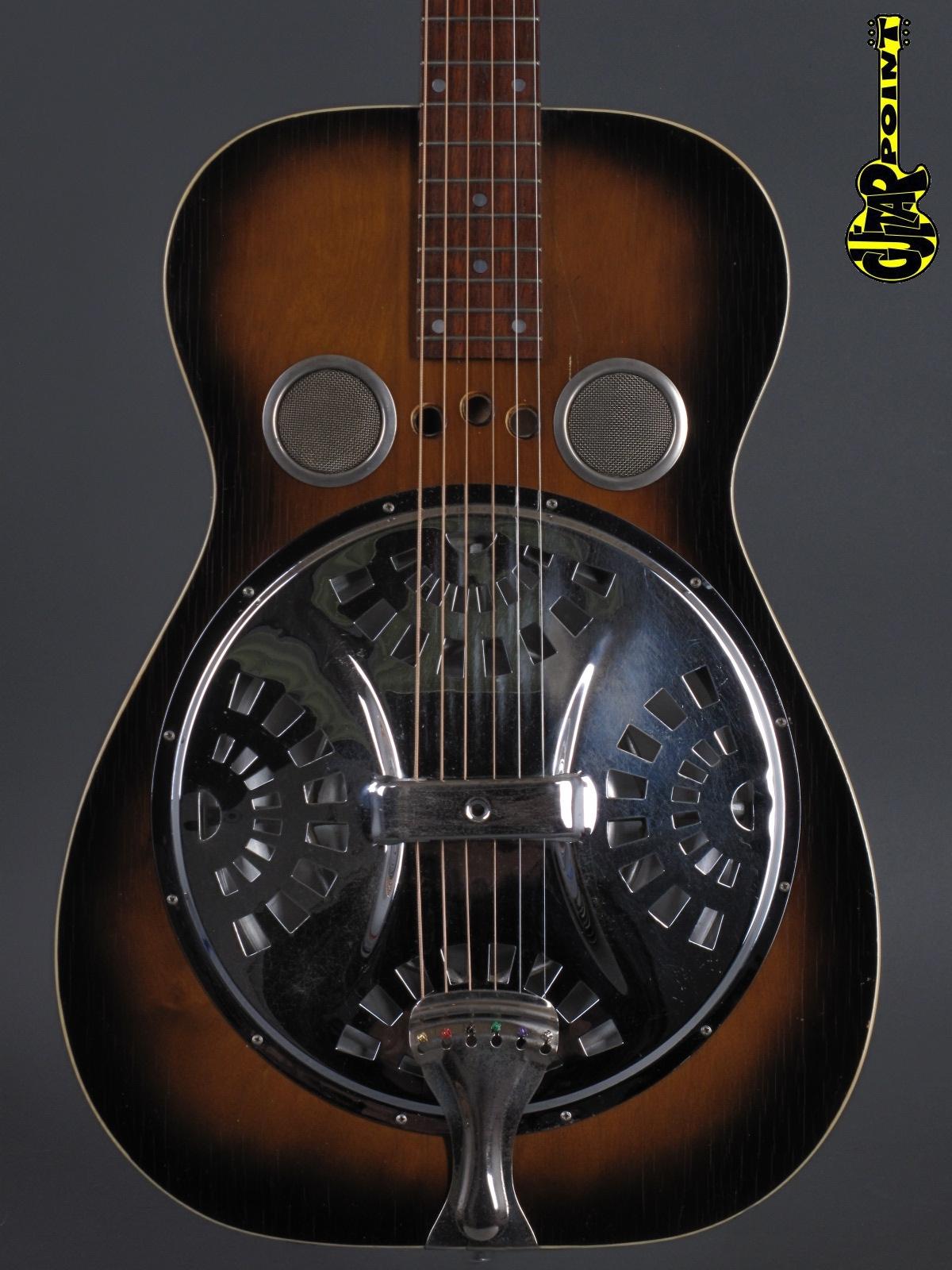 1972 Dobro Model D60 - Square neck