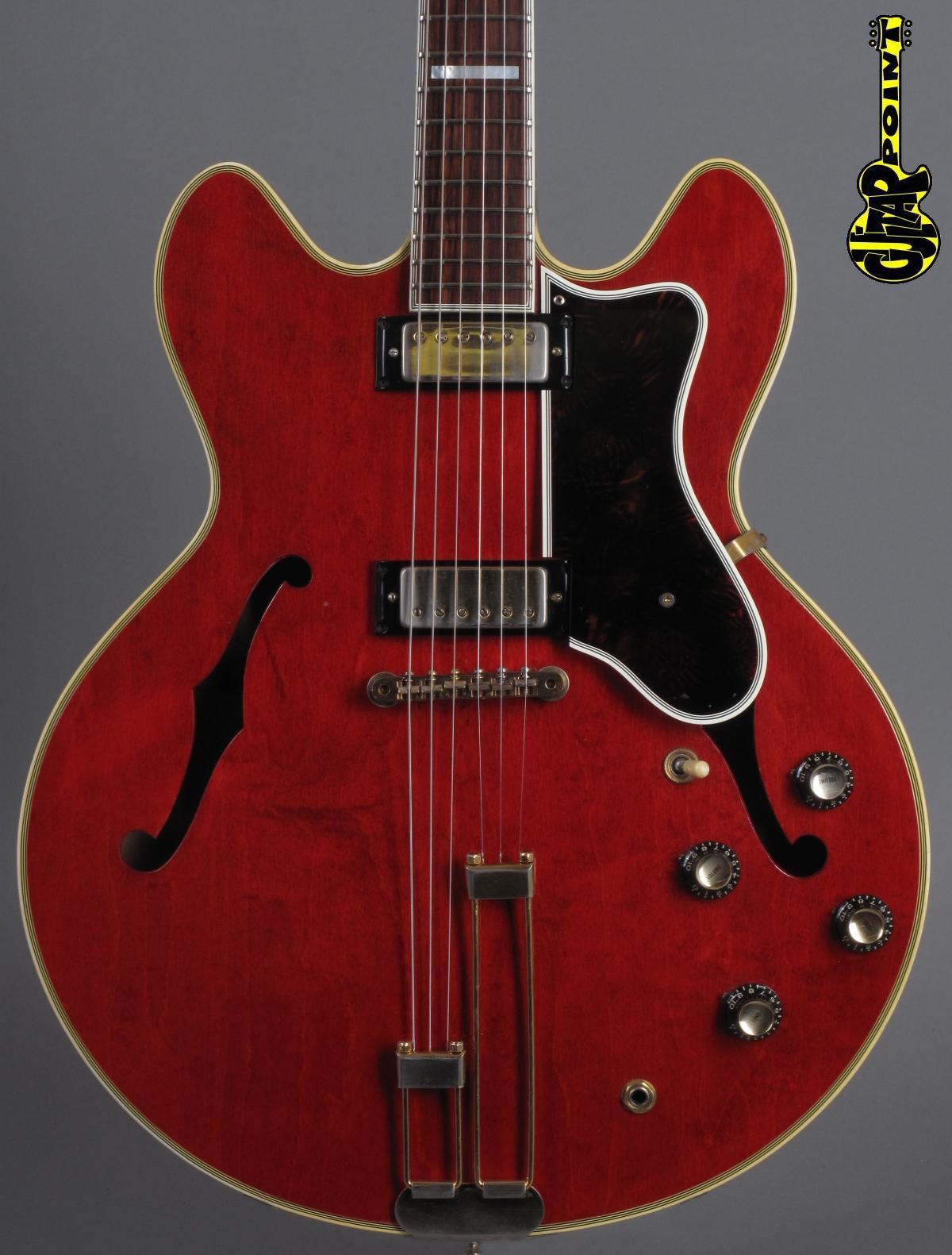 1967 Epiphone Sheraton E212T - Cherry