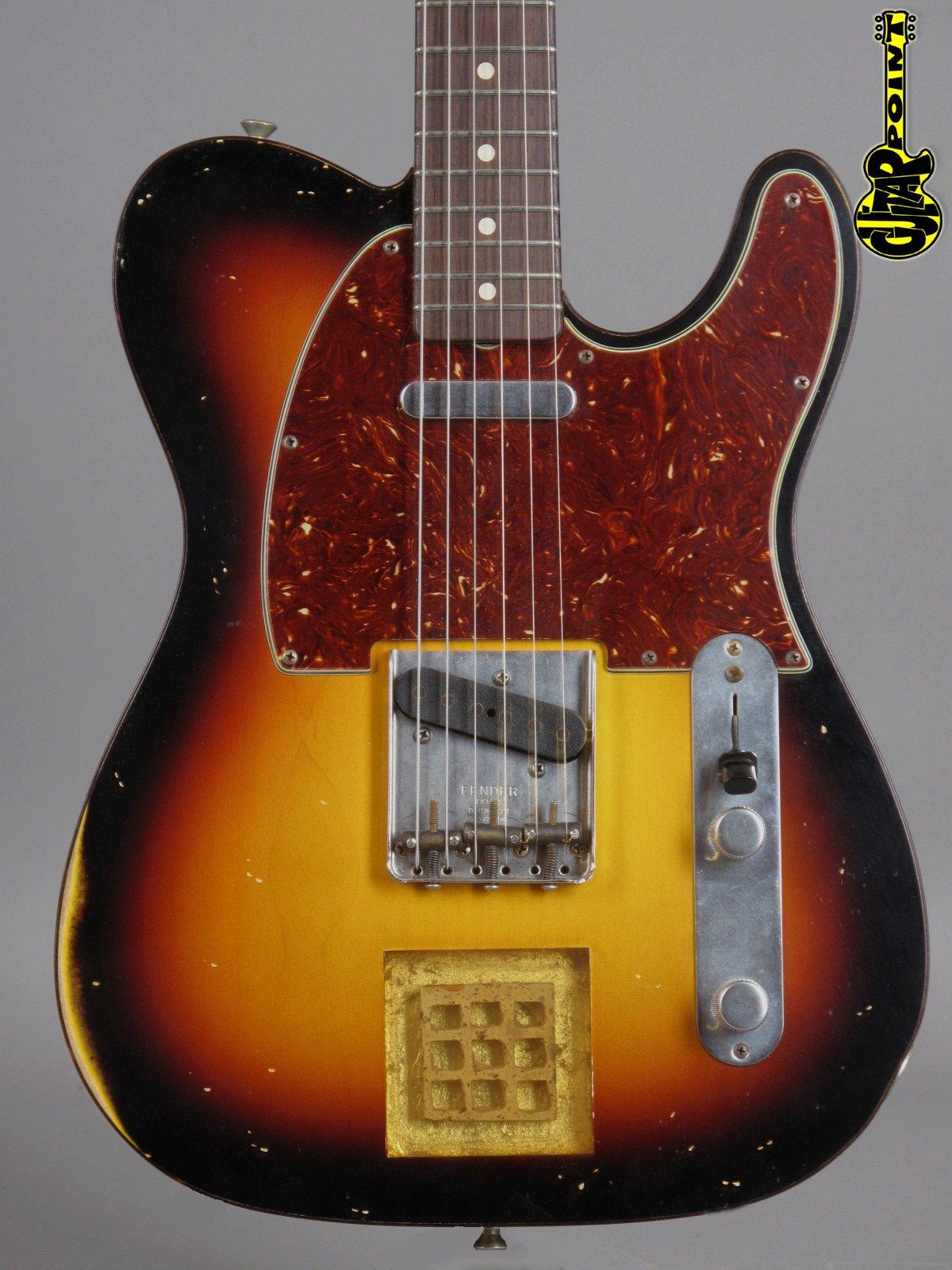 2008 Fender Masterbuilt 60s Relic Beatclub Telecaster No.1 of 10