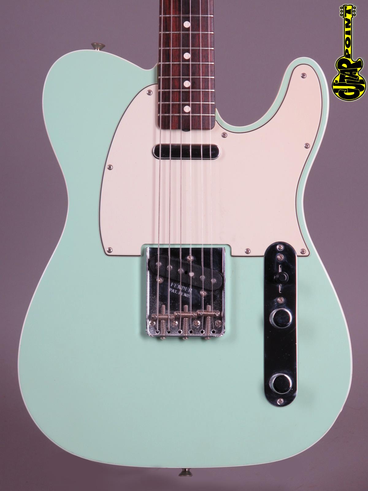 2009 Fender American Vintage 62 Telecaster Custom Surf Green