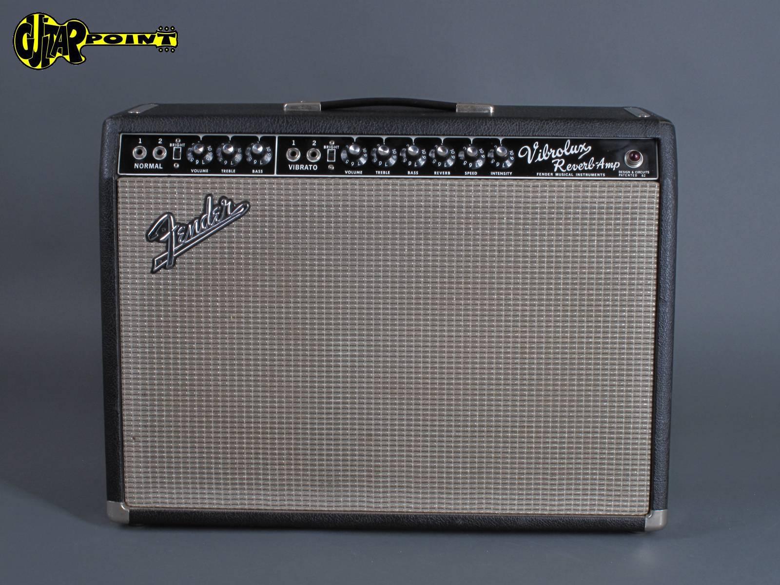 1967 Fender Vibrolux  Reverb Amp - Blackface !