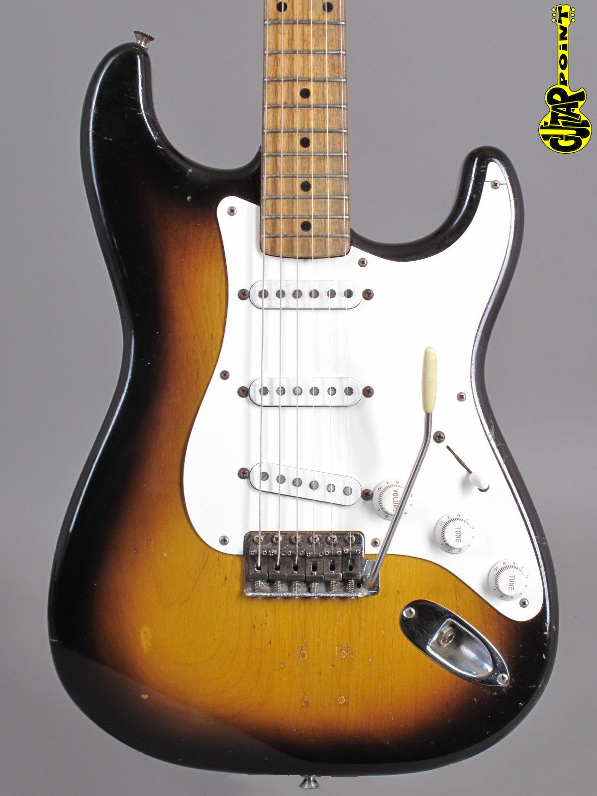 1956 Fender Stratocaster - 2-tone Sunburst