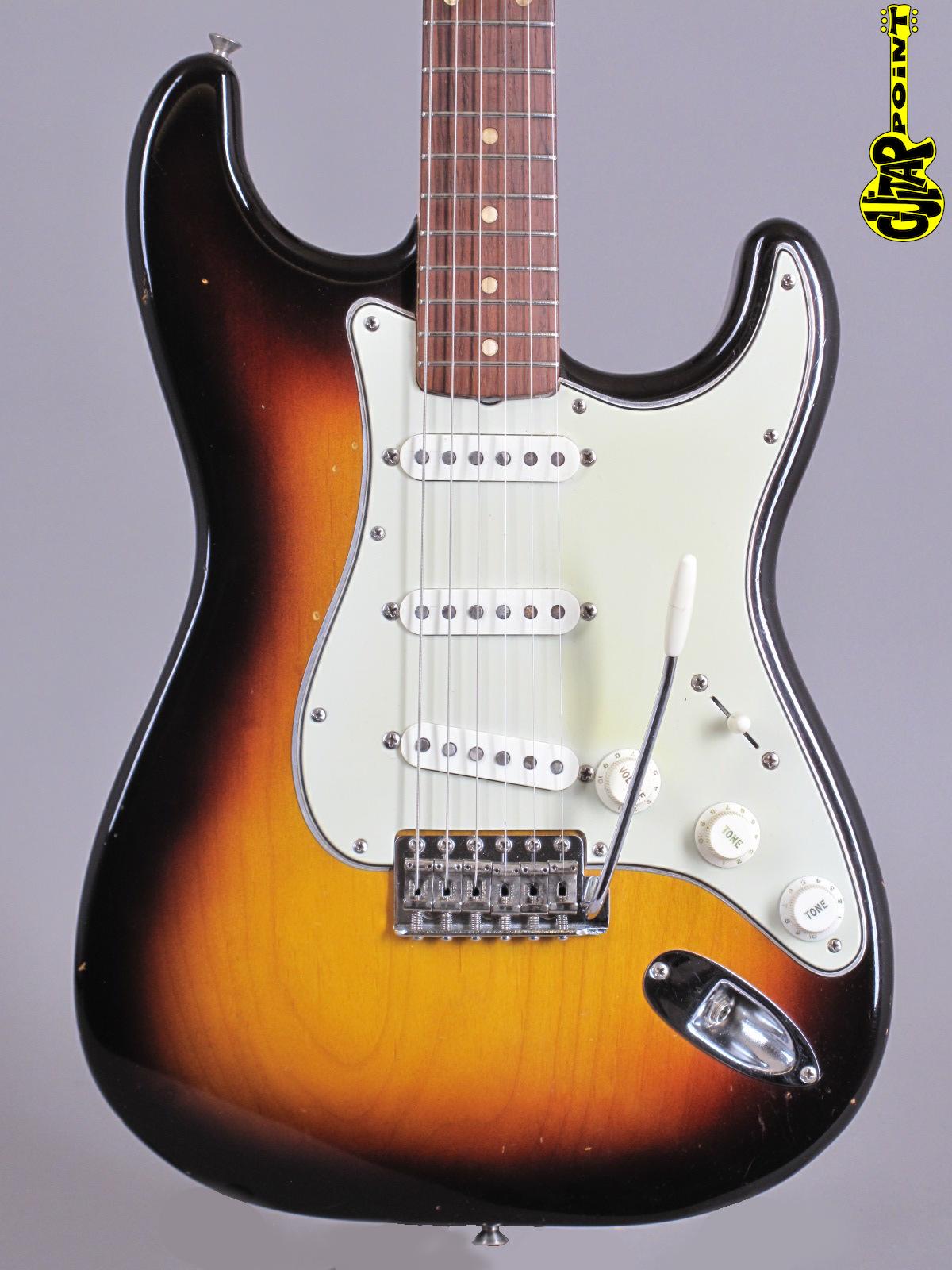 1959 Fender Stratocaster - Sunburst ...super rare early Slabboard
