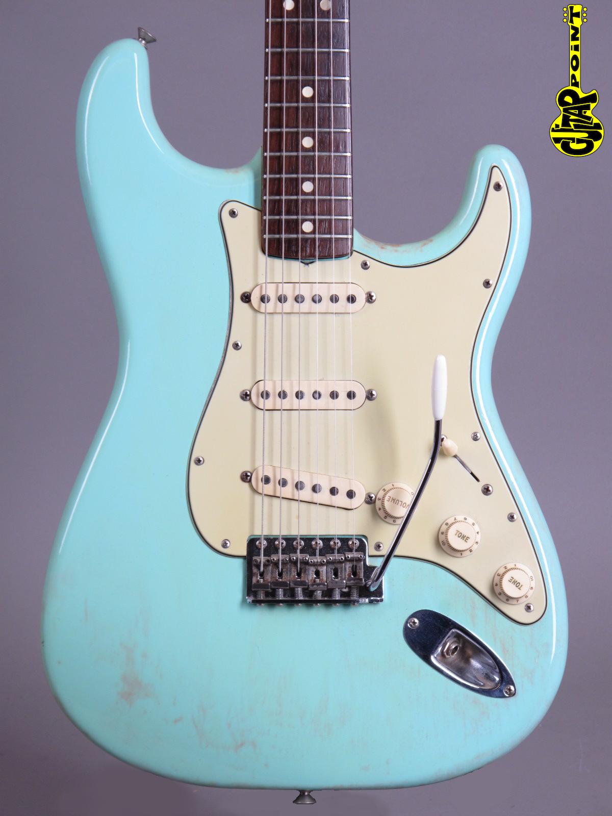 1964 Fender Stratocaster - Surf Green Refin