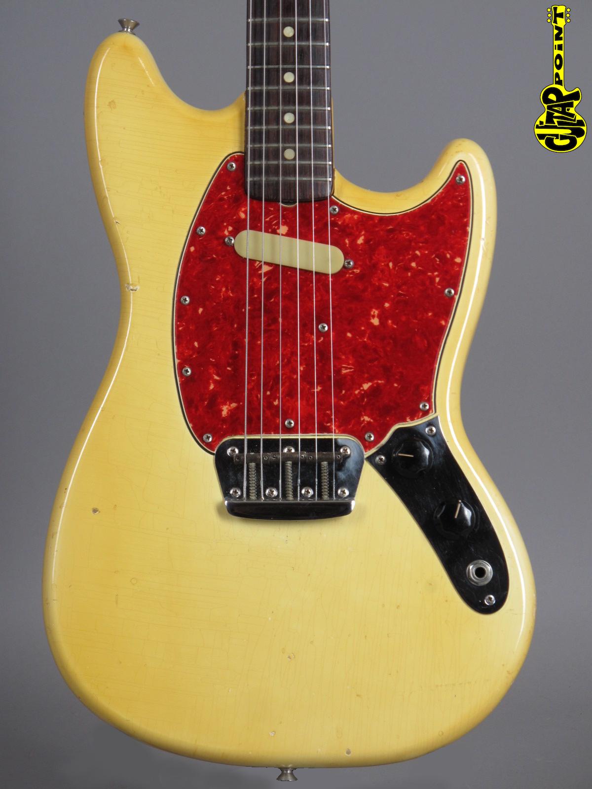 1965 Fender Musicmaster II – Olympic White