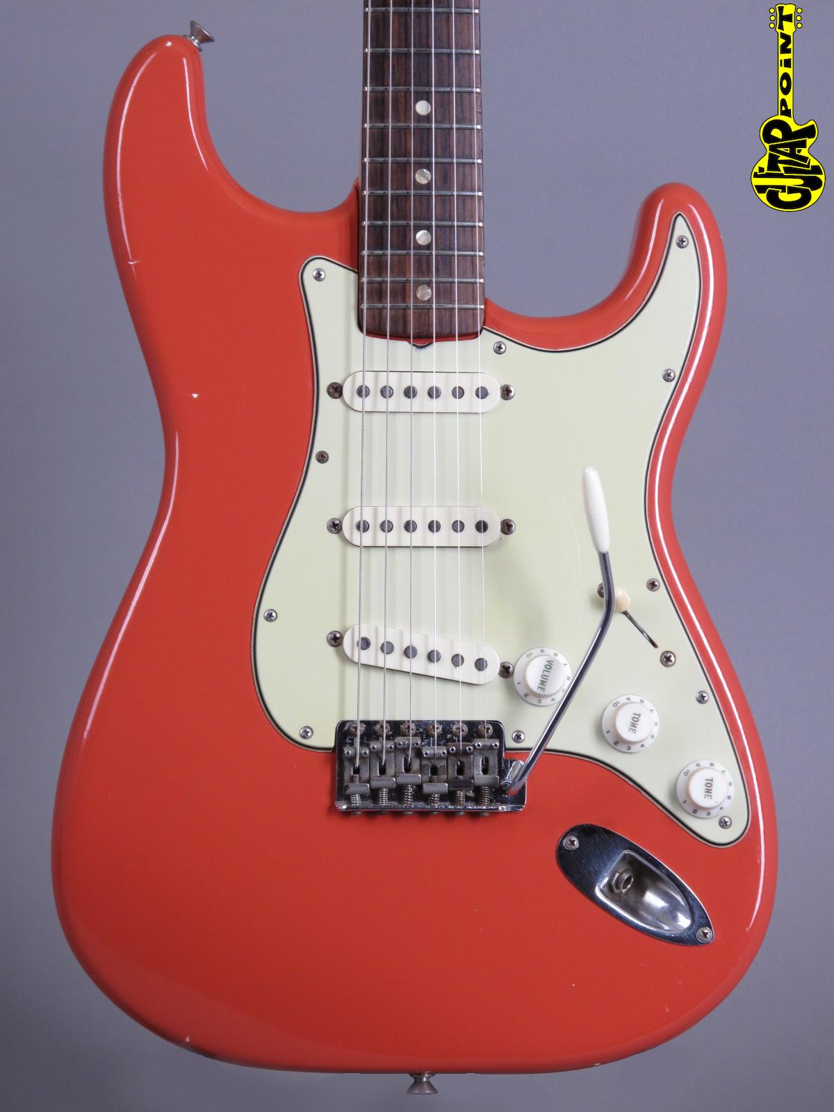 1965 Fender Stratocaster - Fiesta Red (Refin)