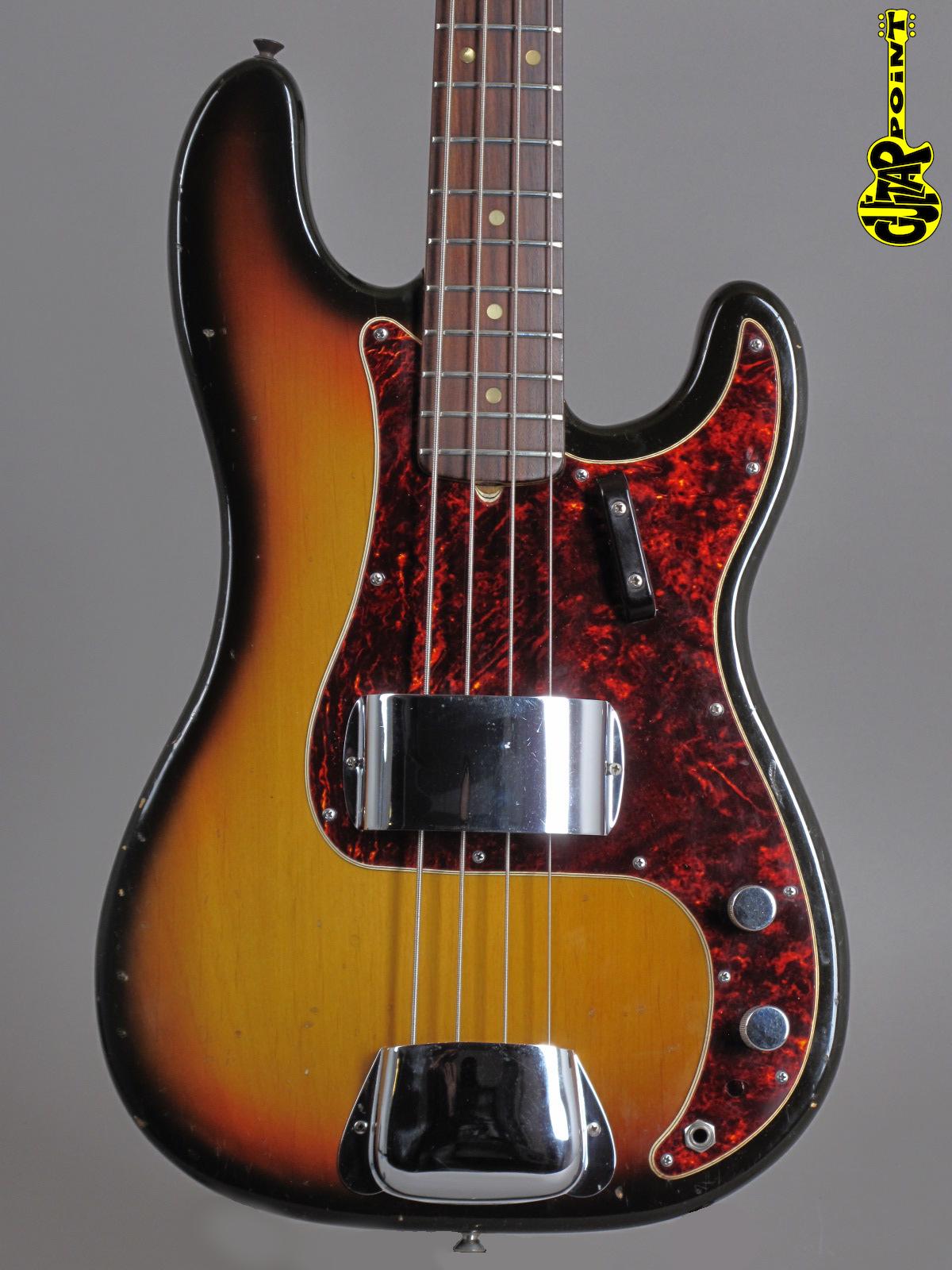 1971 Fender Precision Bass - Sunburst