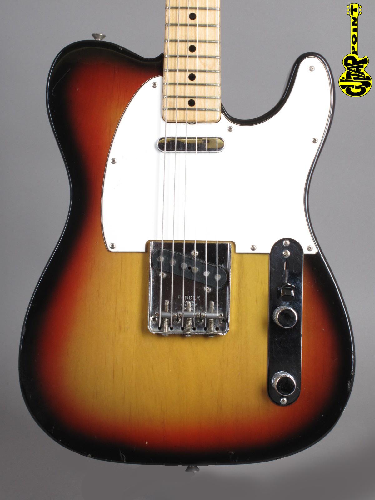 1971 Fender Telecaster - Sunburst - Rare!