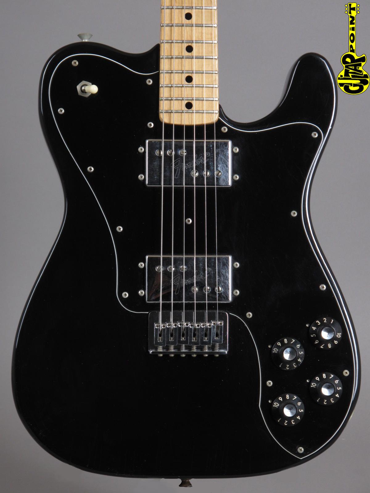 1974 Fender Telecaster Deluxe - Black