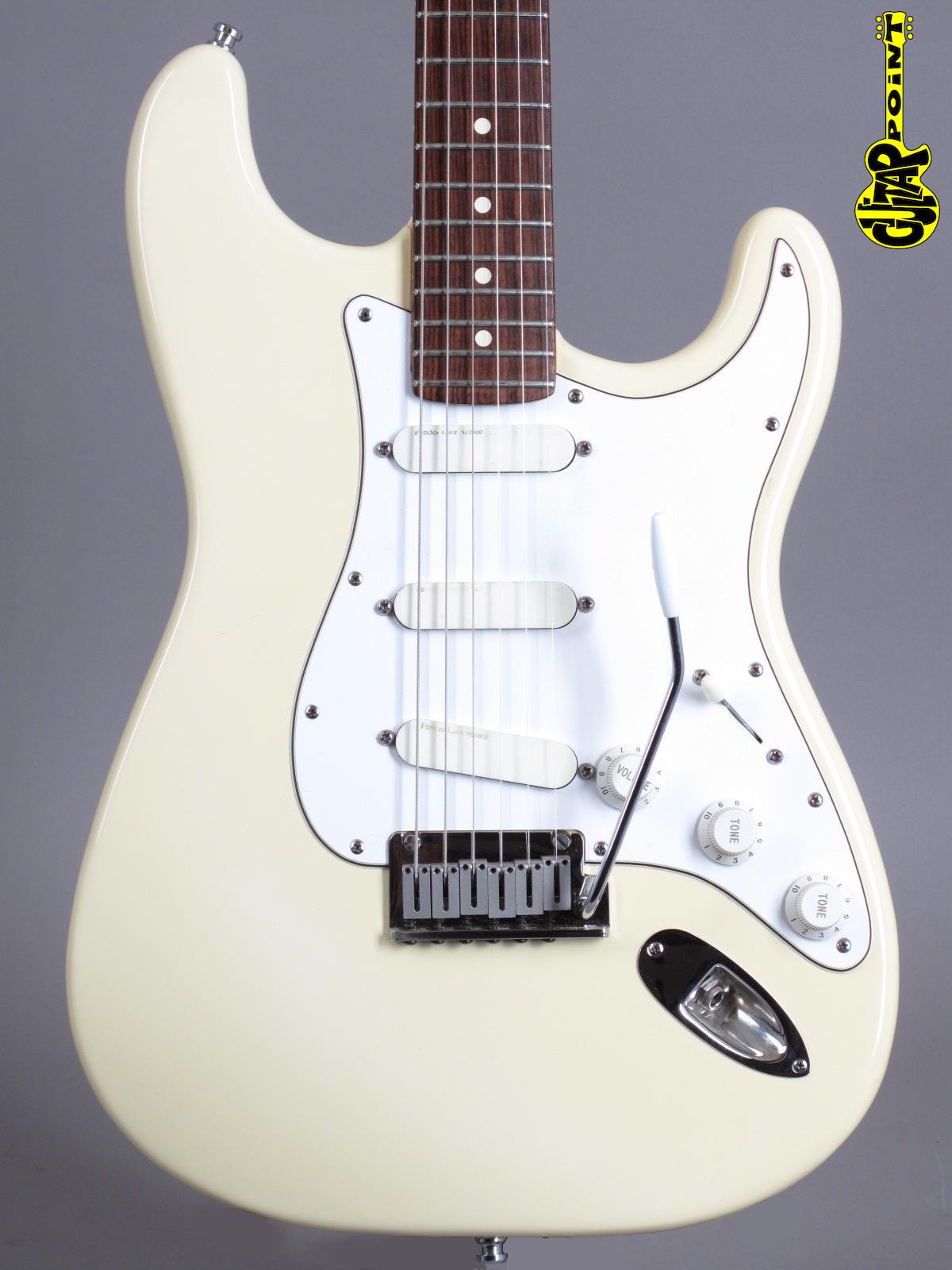 1988 Fender Stratocaster Plus - Arctic White