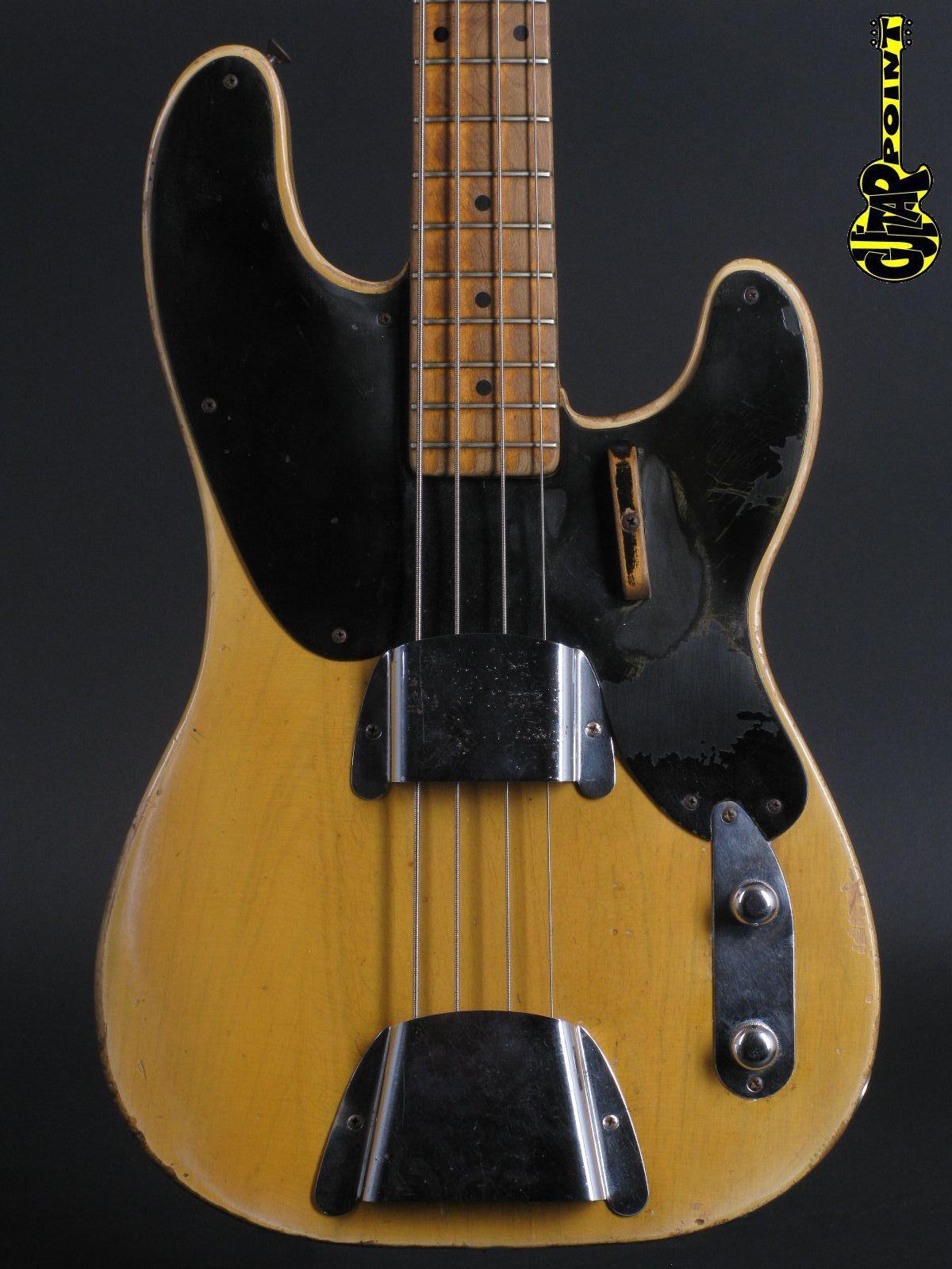1953 Fender Precision Bass - Blond
