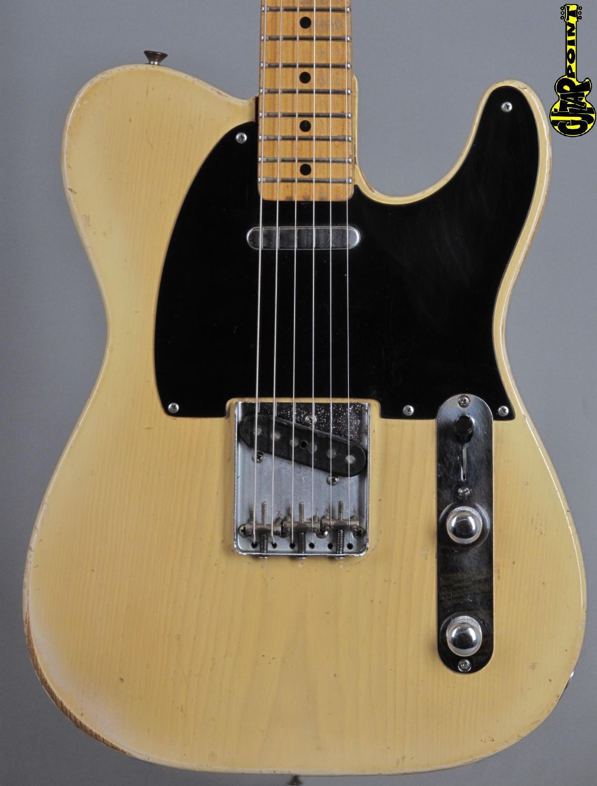 1954 Fender Telecaster - Blond