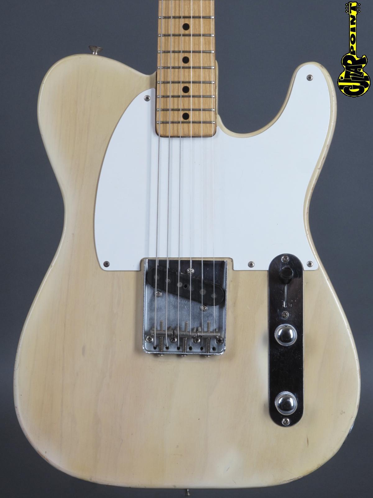 1955 Fender Esquire (Telecaster) - Blond   ...only 2,76 Kg!