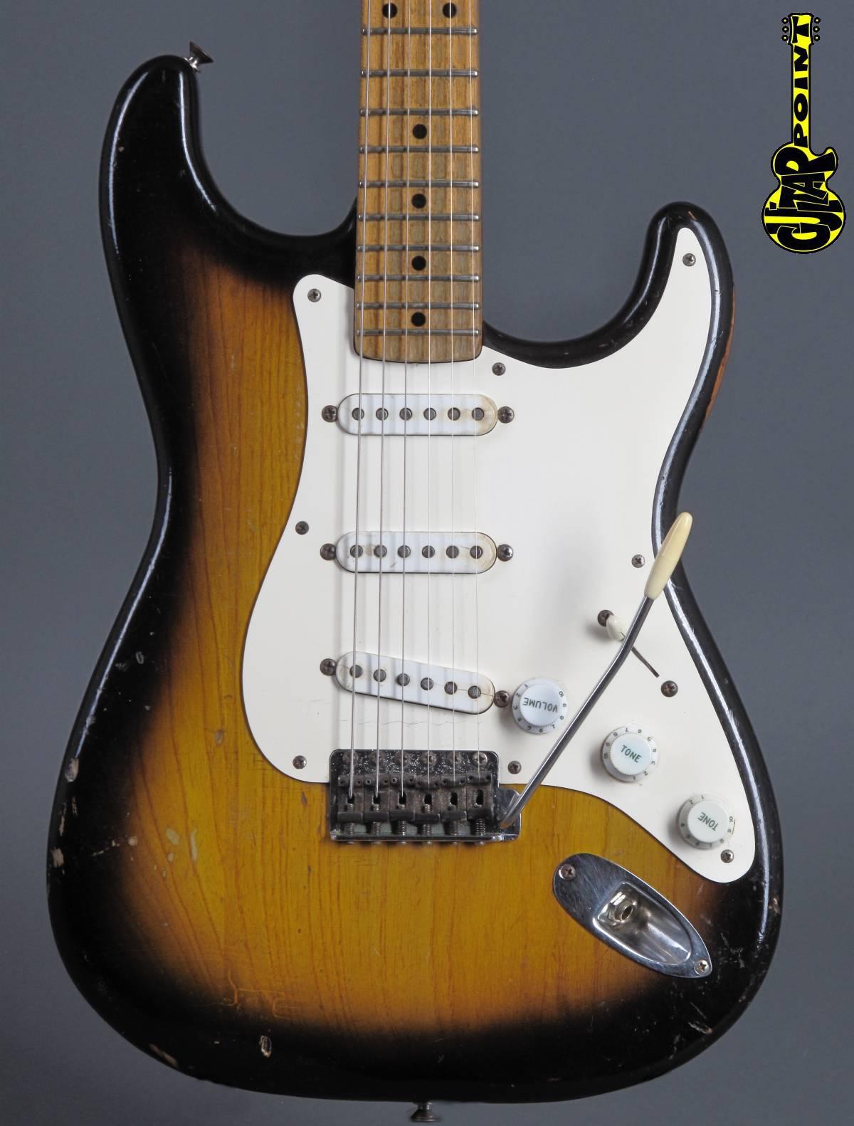 1955 Fender Stratocaster - 2-Tone Sunburst - 3,1Kg!