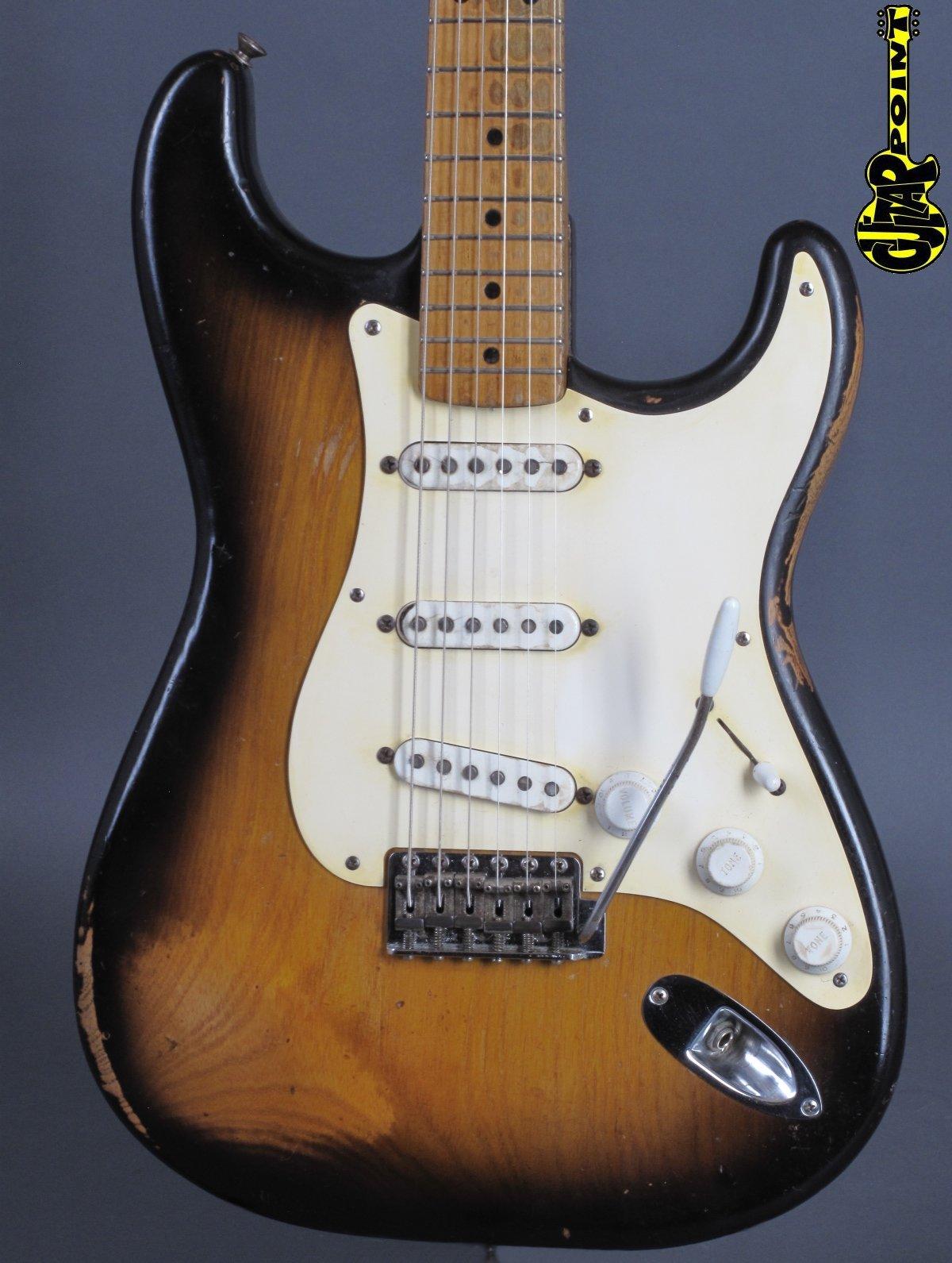 1955 Fender Stratocaster - 2-Tone Sunburst