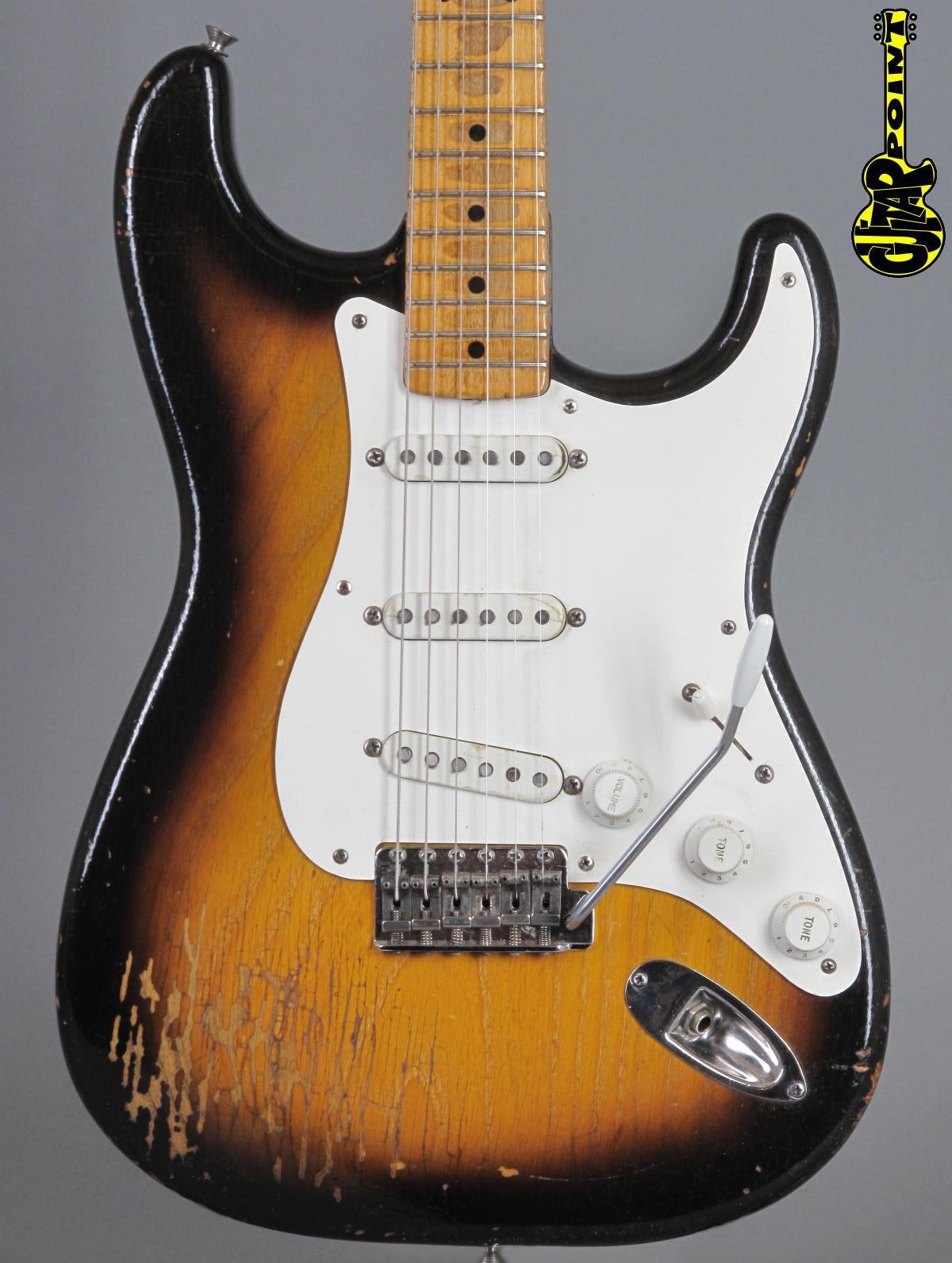 1955 Fender Stratocaster - 2-Tone Sunburst   ...only 3,11 Kg!