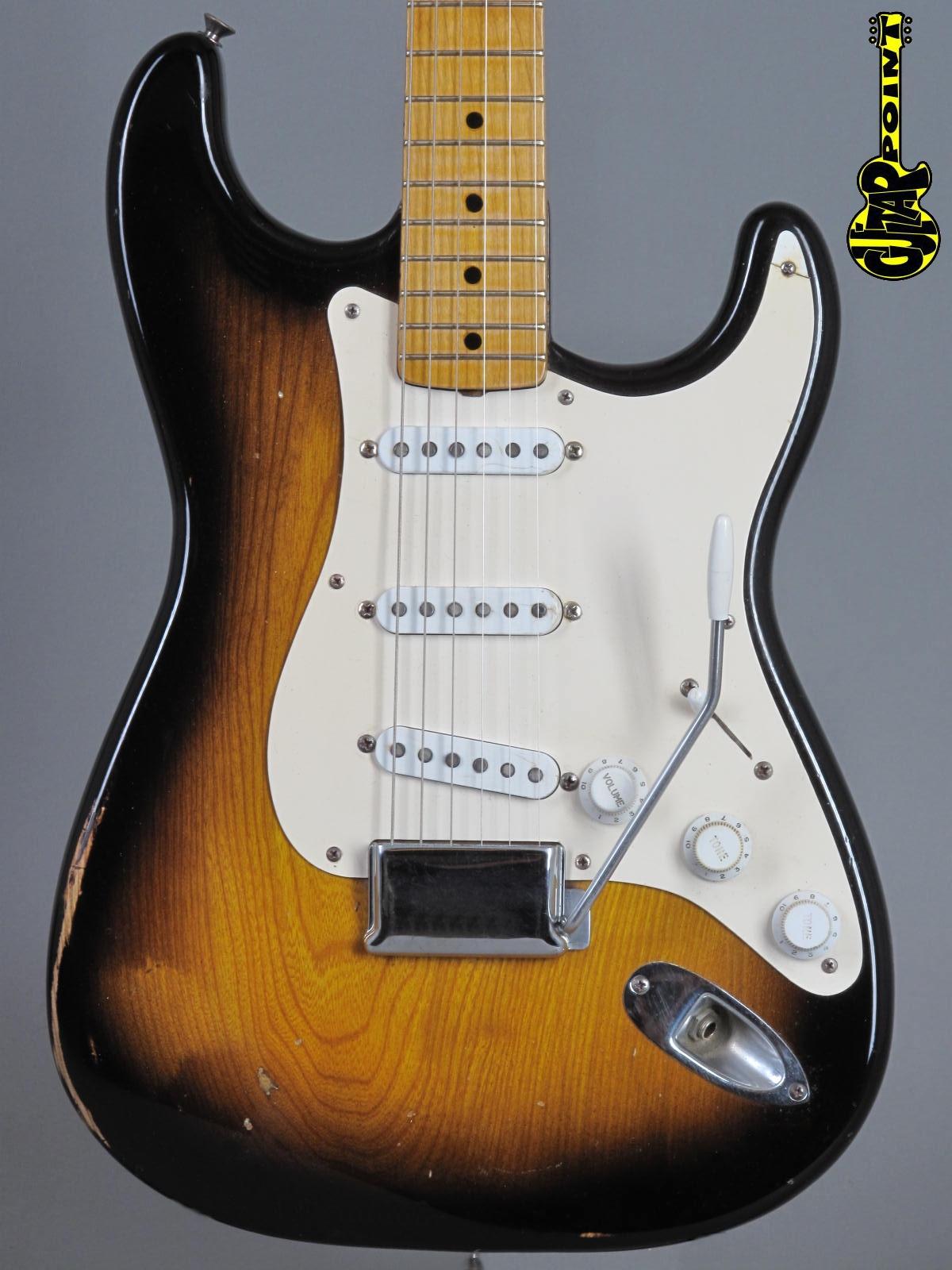 1954/-55 Fender Stratocaster - 2-Tone Sunburst