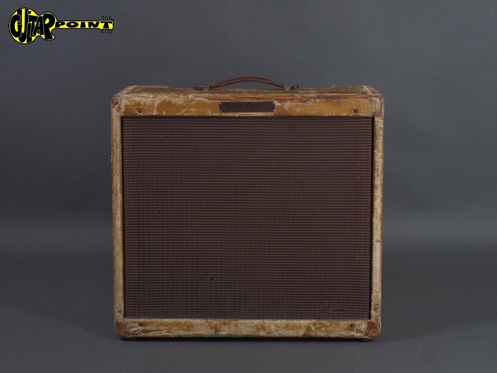 1956 Fender Tremolux - Tweed / Narrow Panel