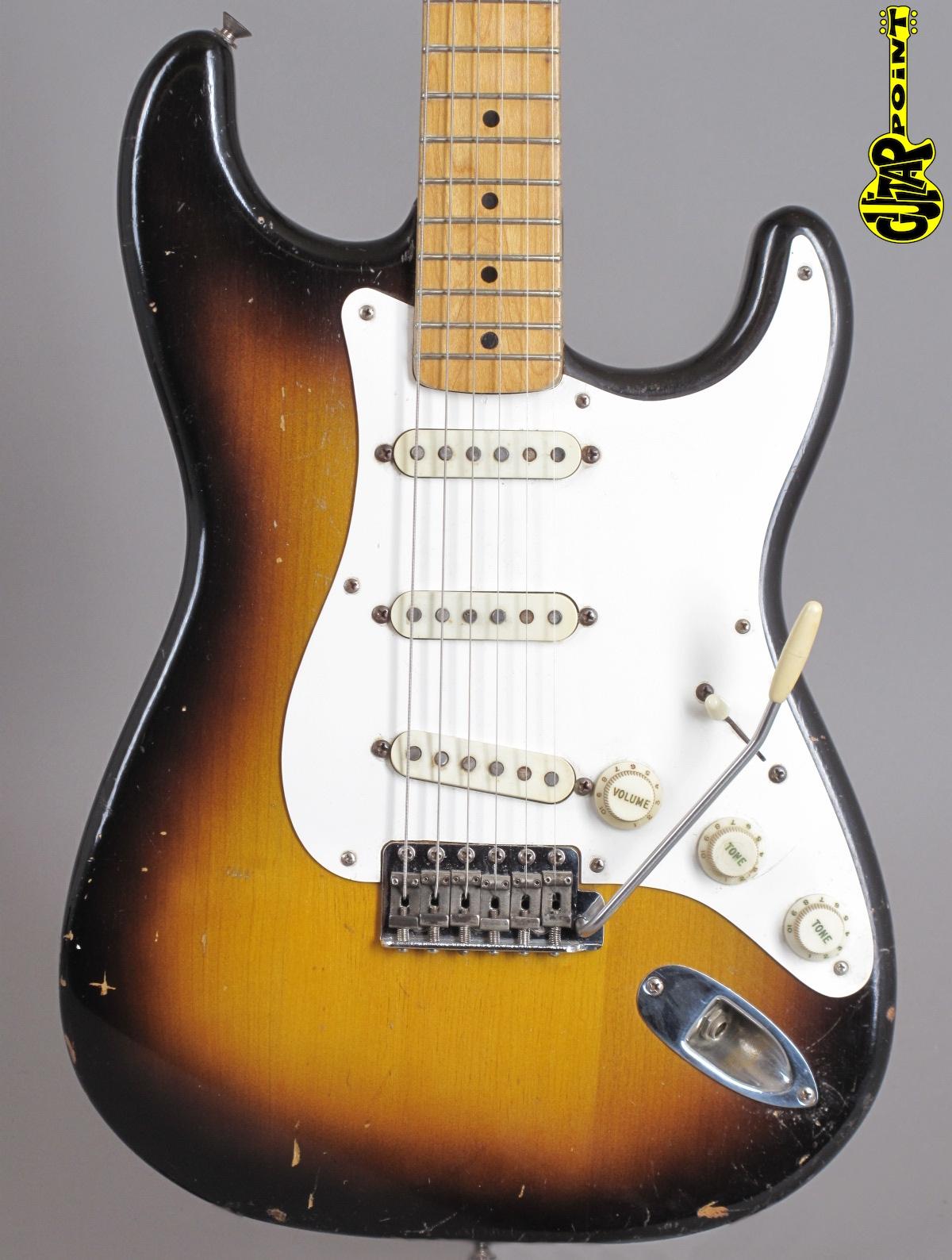 1957 Fender Stratocaster - 2-tone Sunburst