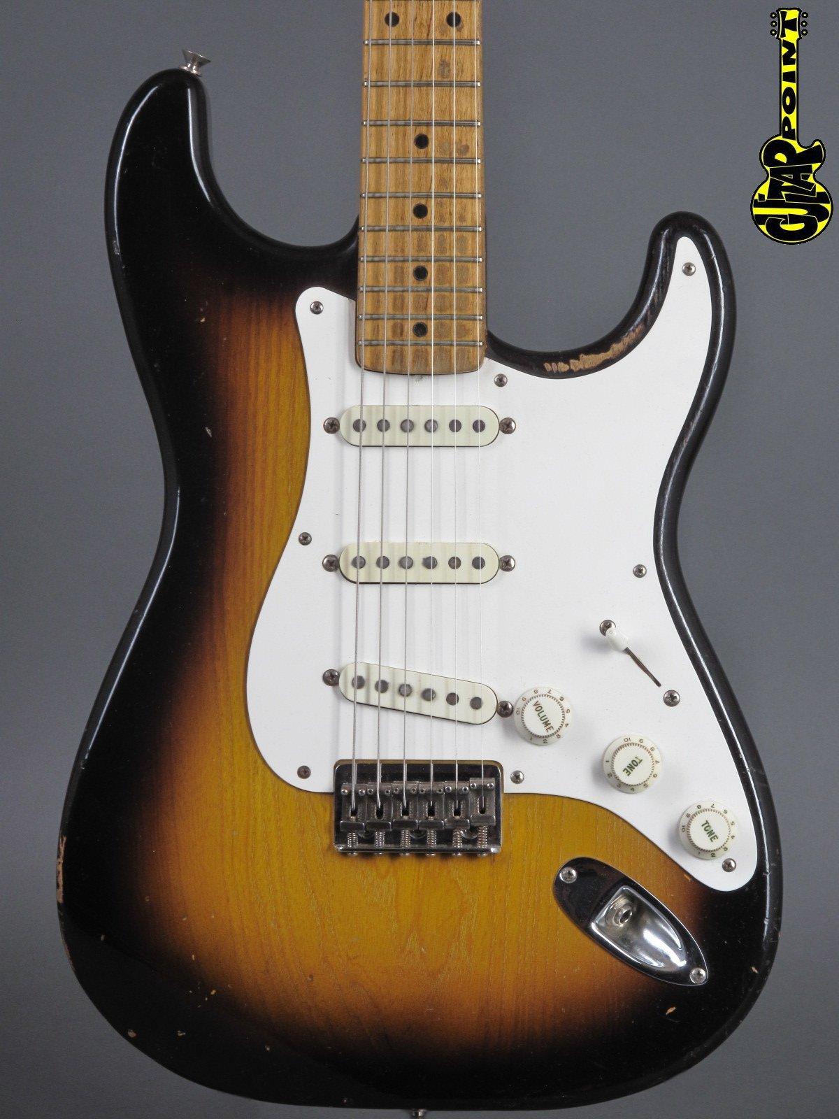 1957 Fender Stratocaster - 2-tone Sunburst / Hardtail
