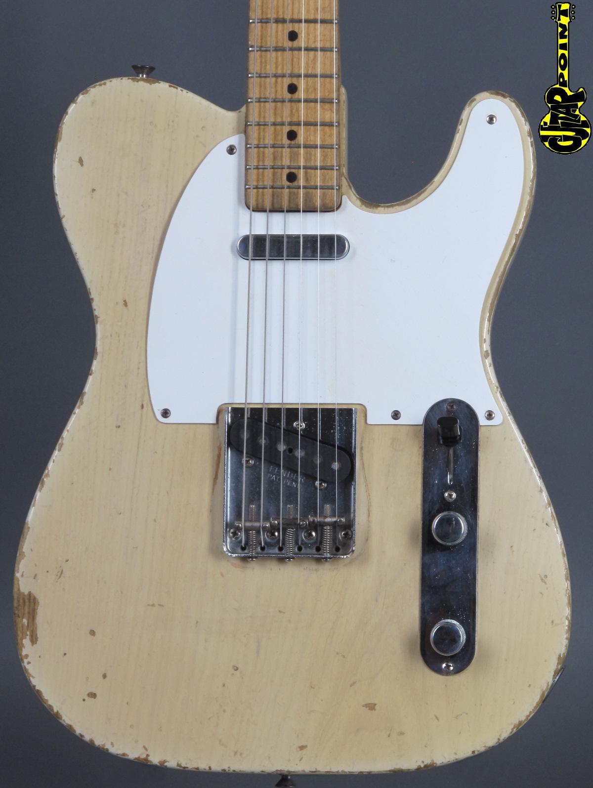 1957 Fender Telecaster - Blond incl. orig. Tweed Case