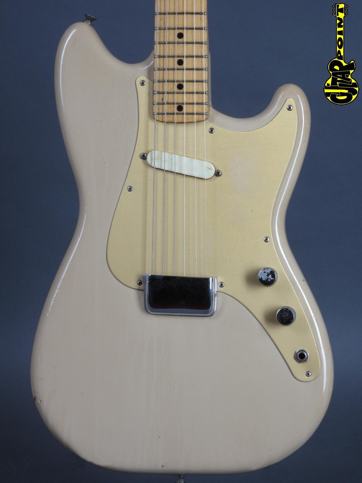 1958 Fender Musicmaster – Desert Sand