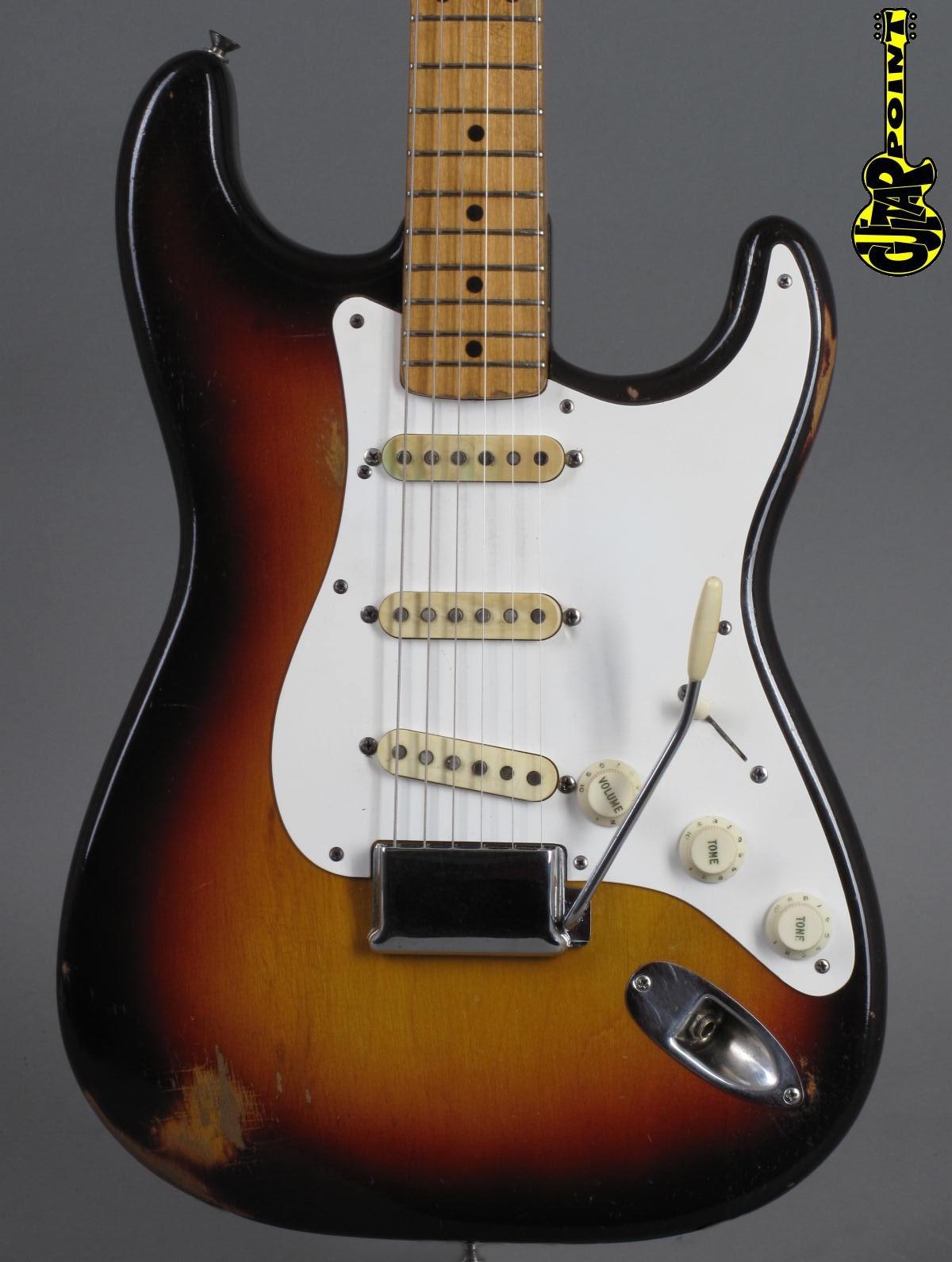 1958 Fender Stratocaster - 3-tone Sunburst