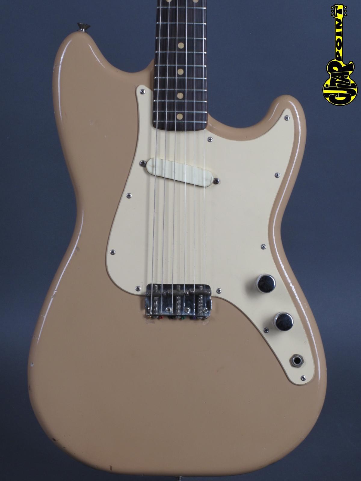 1959 Fender Musicmaster – Desert Sand
