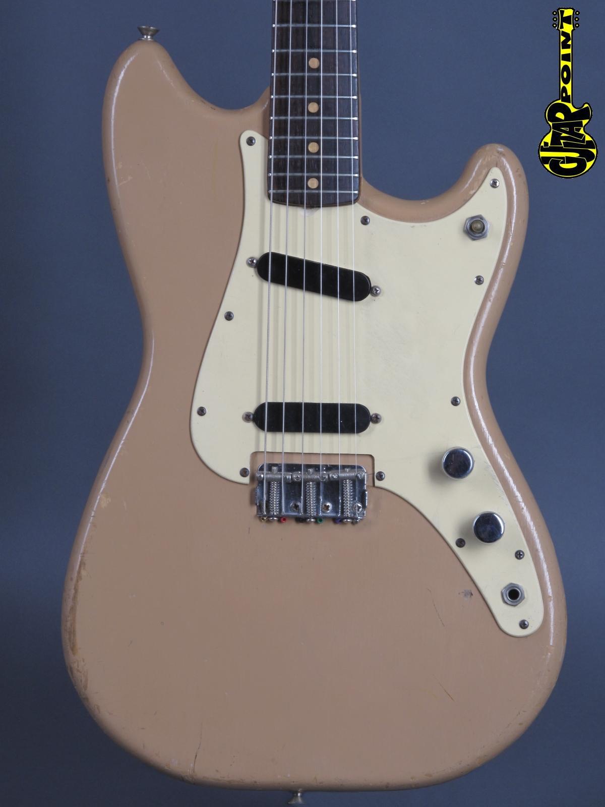 1960 Fender Duo Sonic – Desert Sand