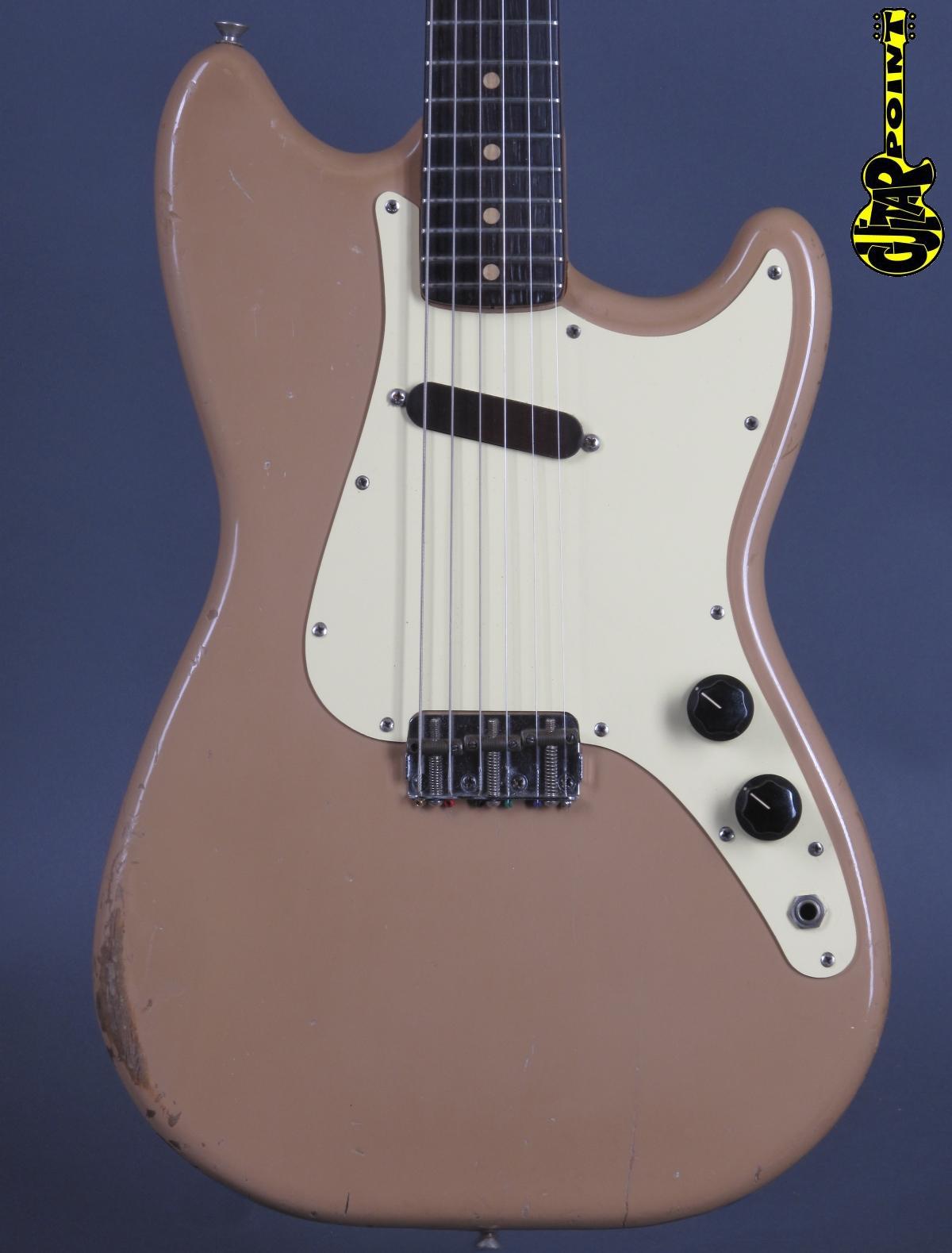 1960 Fender Musicmaster –Desert Sand