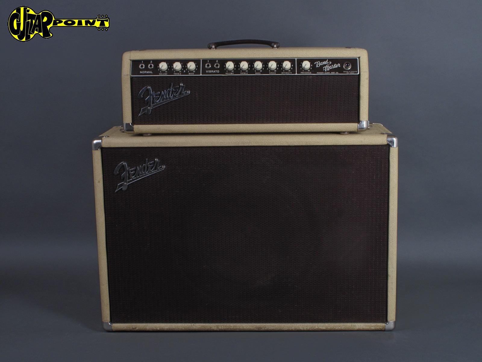 """1961 Fender Bandmaster + 1x12"""" Speaker Cabinet"""